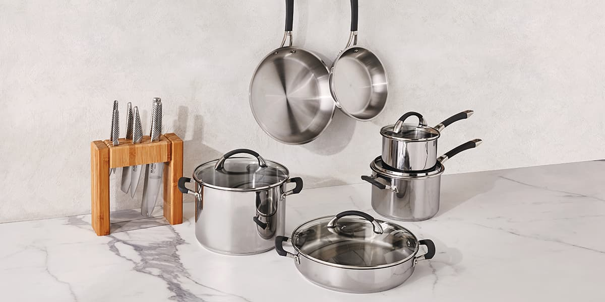 Peachy Cookware Skillets Saucepans Pots More David Jones Download Free Architecture Designs Sospemadebymaigaardcom
