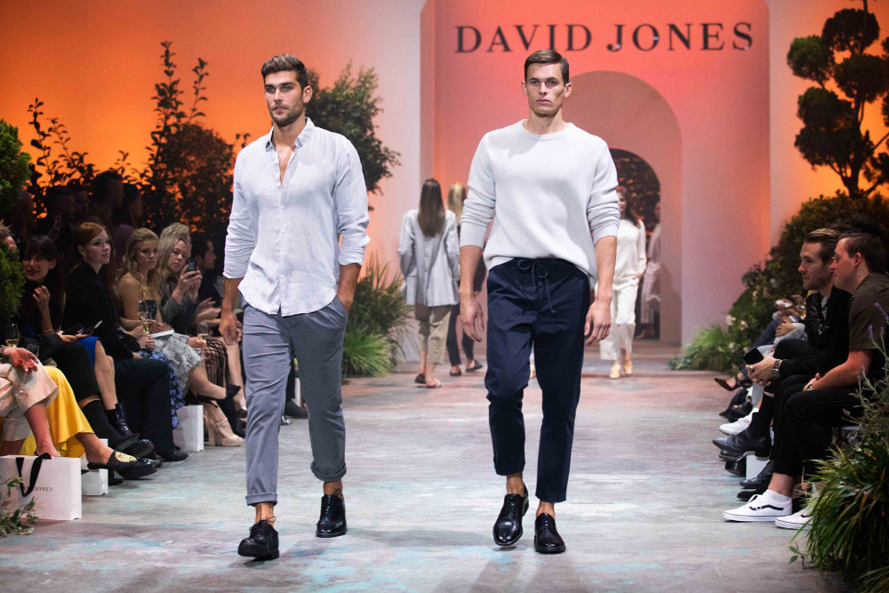 David Jones collections launch SS18 trends