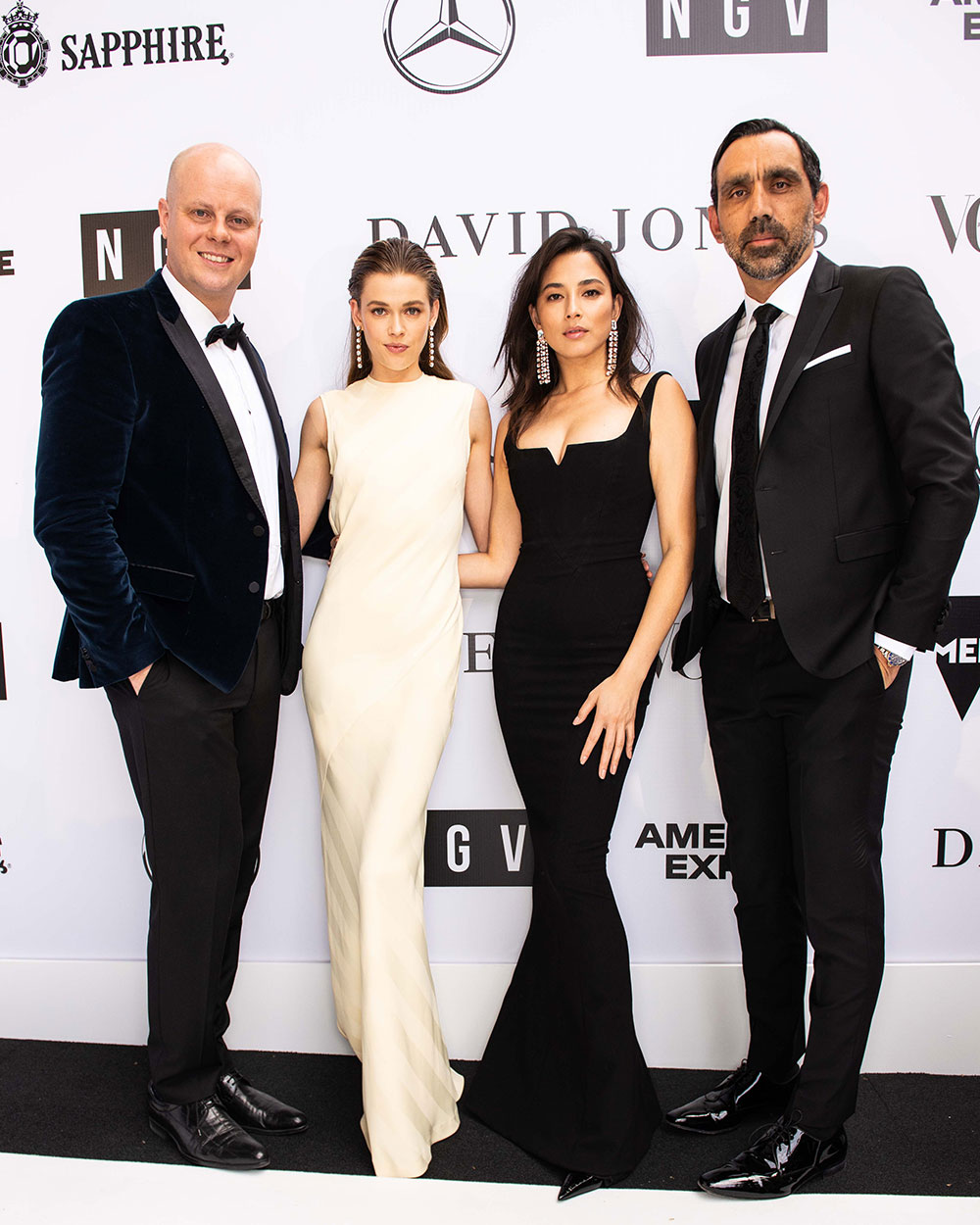 1bfed8ad5882 NGV Gala Exclusive Designer Collaboration with David Jones