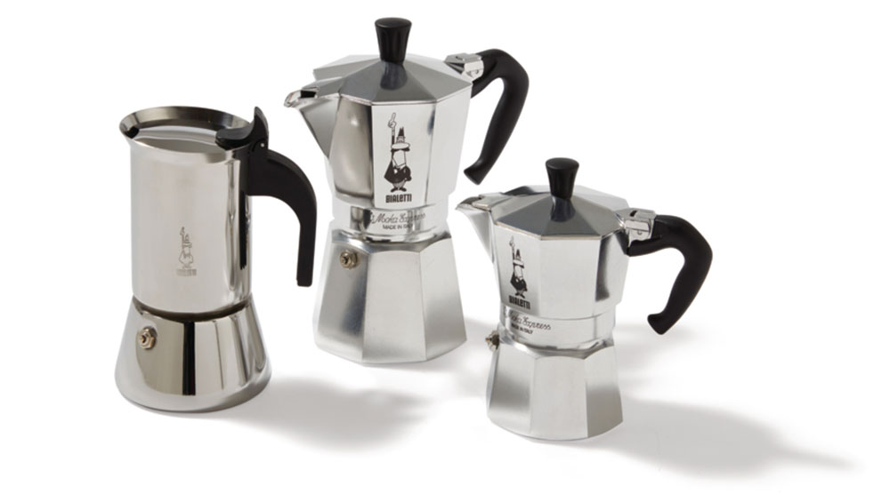 Bialetti stovetop coffeemakers