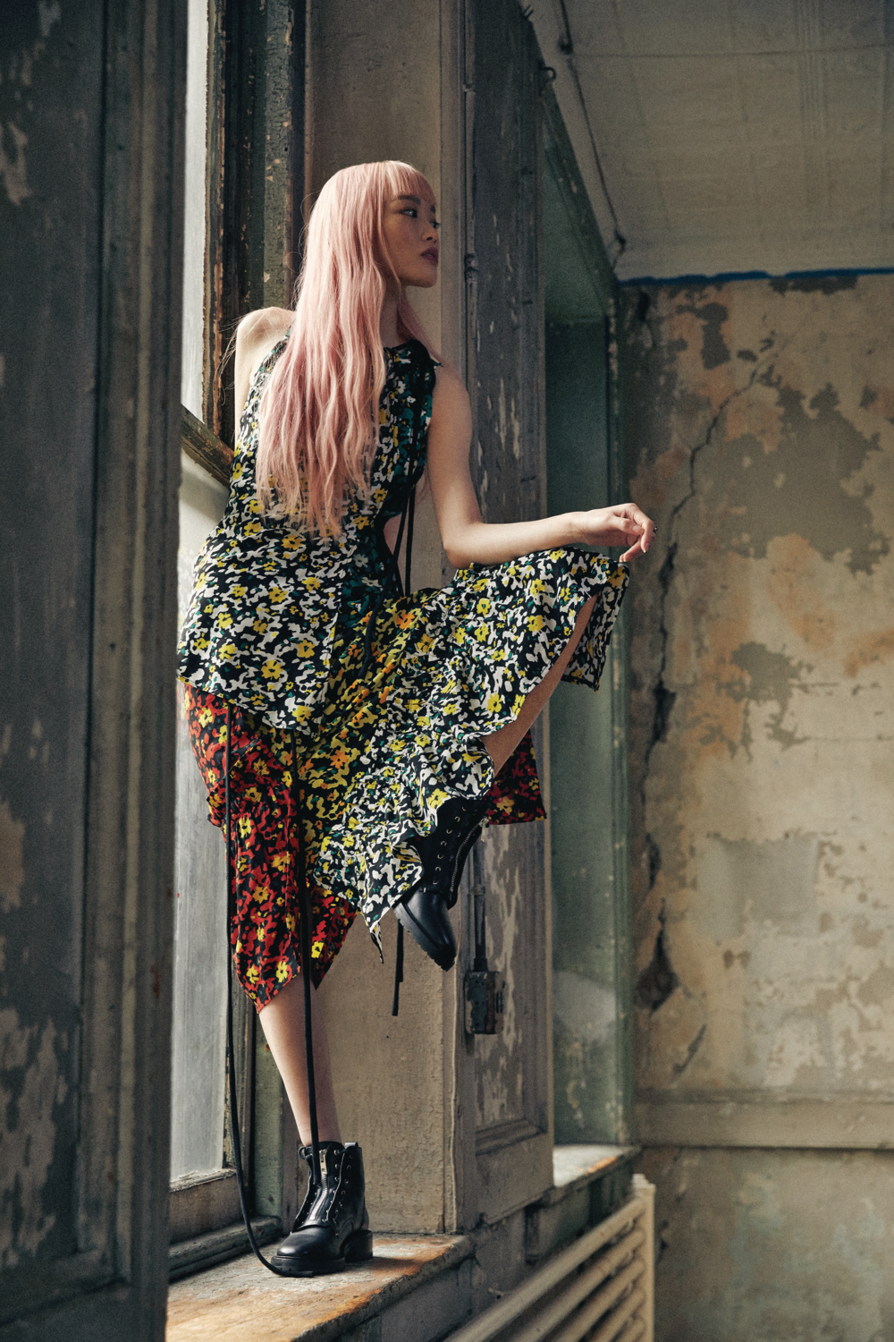 Australian Model Fernanda Ly New York Fashion Shoot