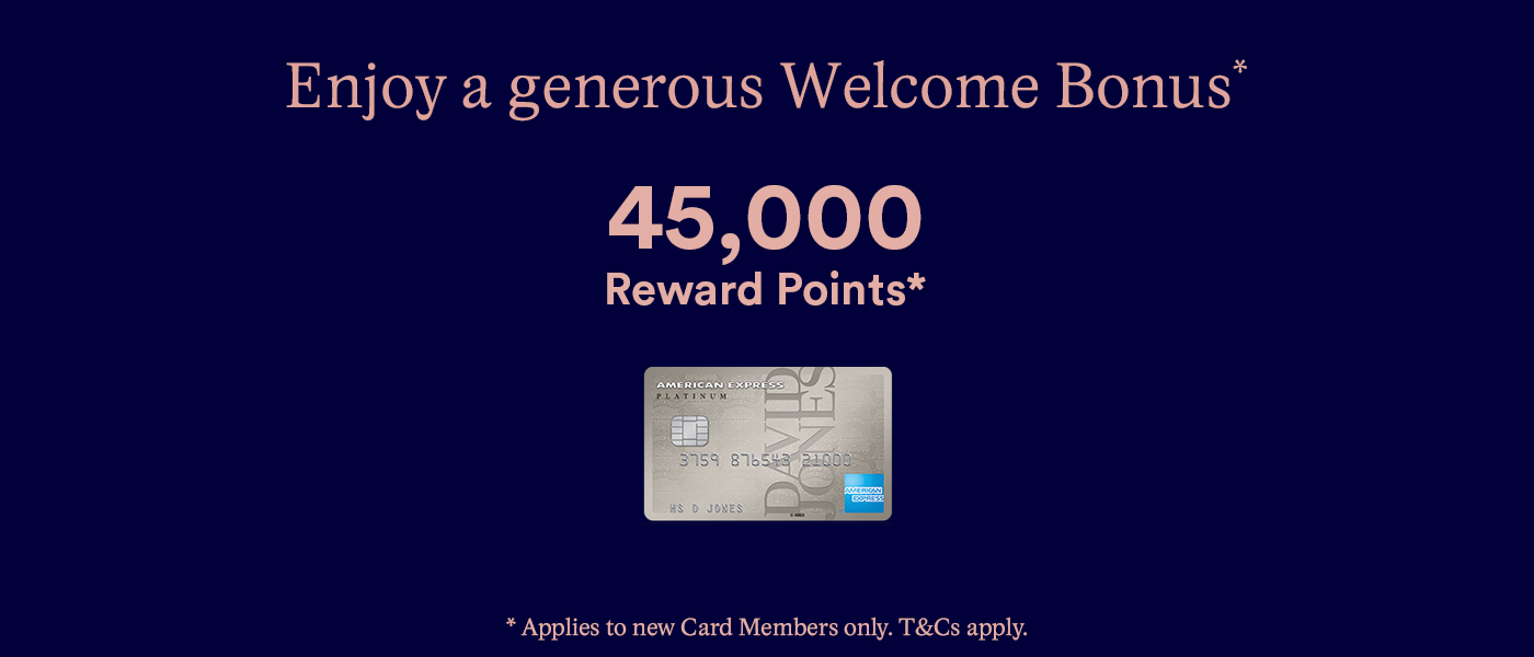 David Jones American Express Platinum Card
