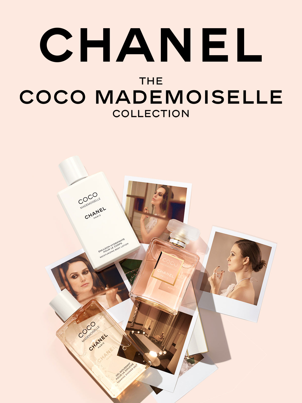 image of Chanel Coco Mademoiselle perfume collection