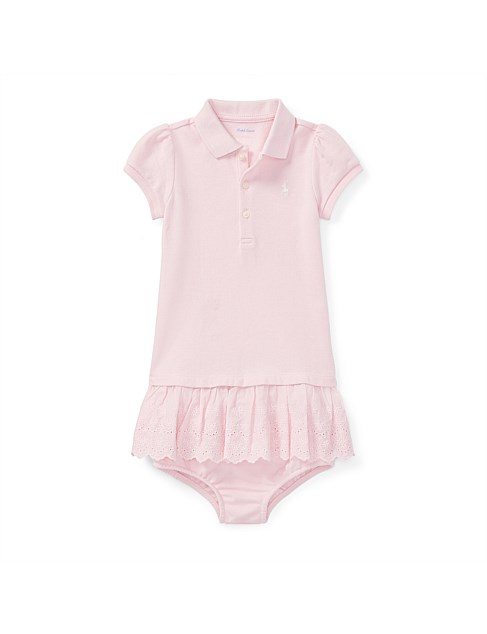 9cb649447b Baby Clothing - Eyelet Polo Dress & Bloomer(6-24 Months)