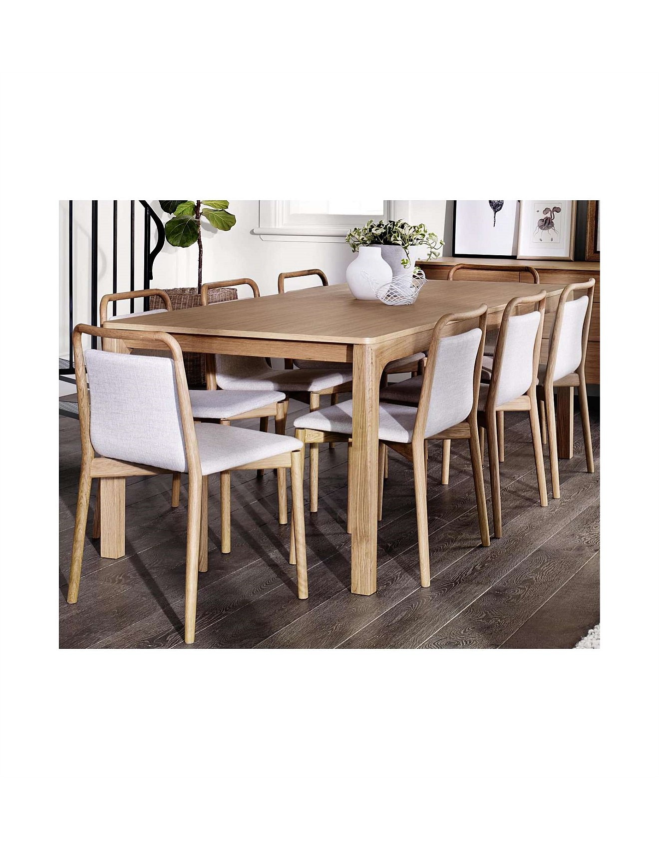 Tangent Dining Table Oak