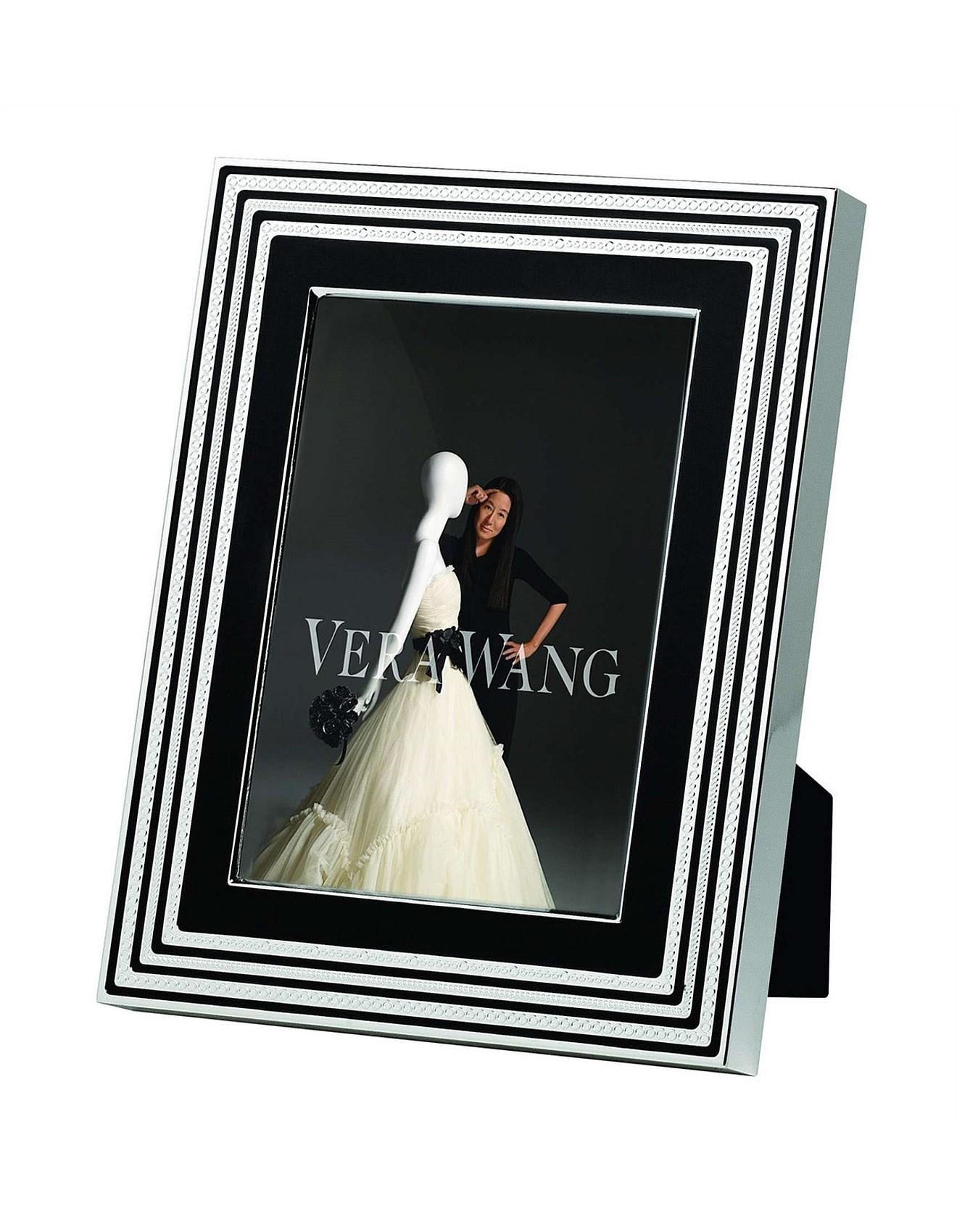 Vera Wang Wedgwood With Love Noir Silver Frame 5\