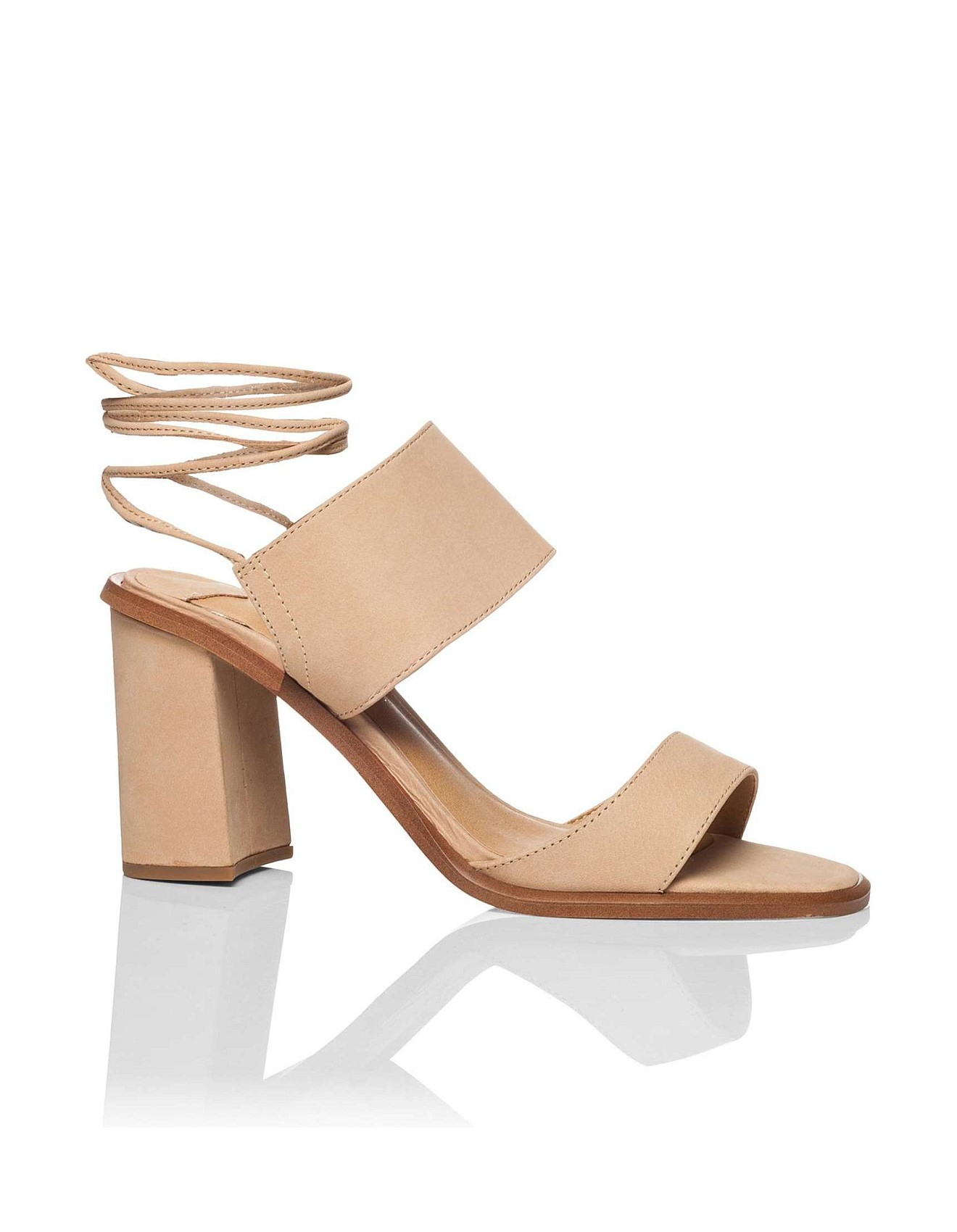 Cuoco High Heel Sandal With Ankle Lace