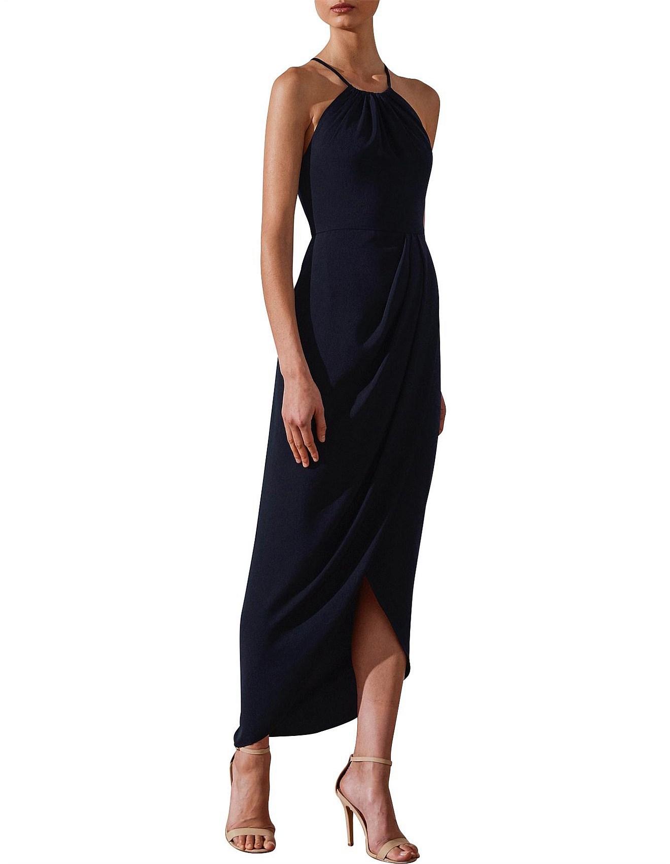 bc26b0e786a Core High Neck Ruched Dress