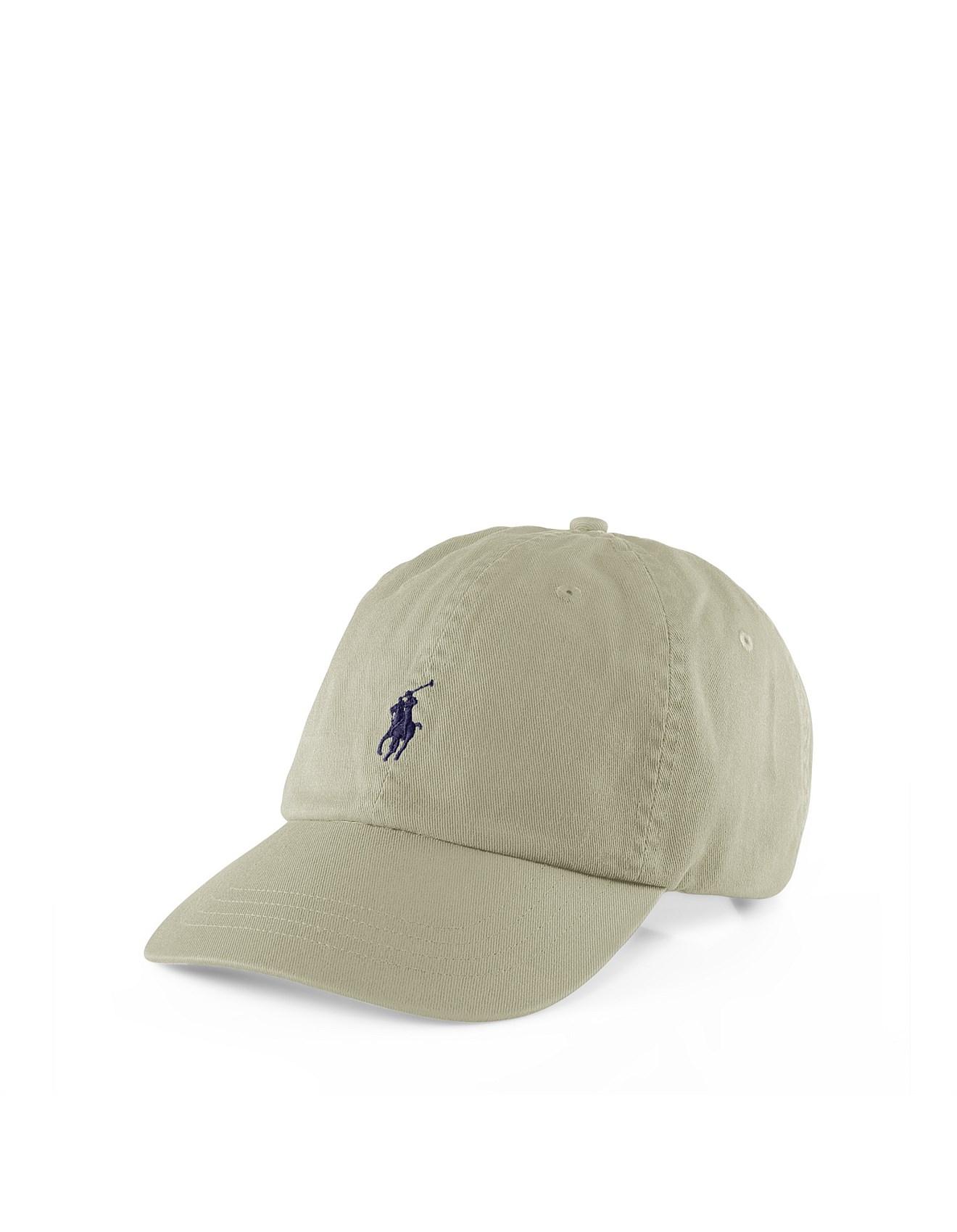 98930a88fd95b5 Mens Polo Chino Baseball Cap