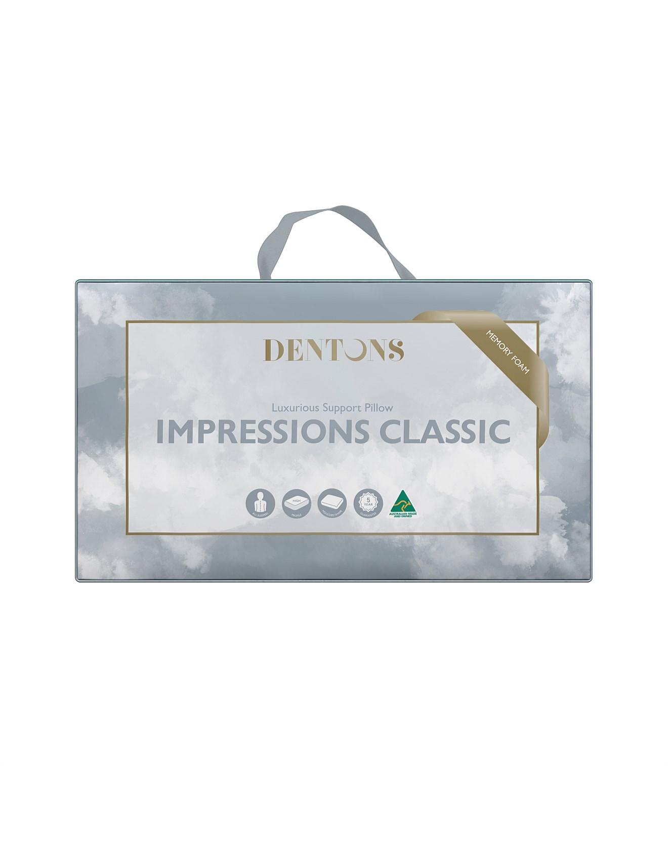 Impressions Classic Memory Foam Pillow