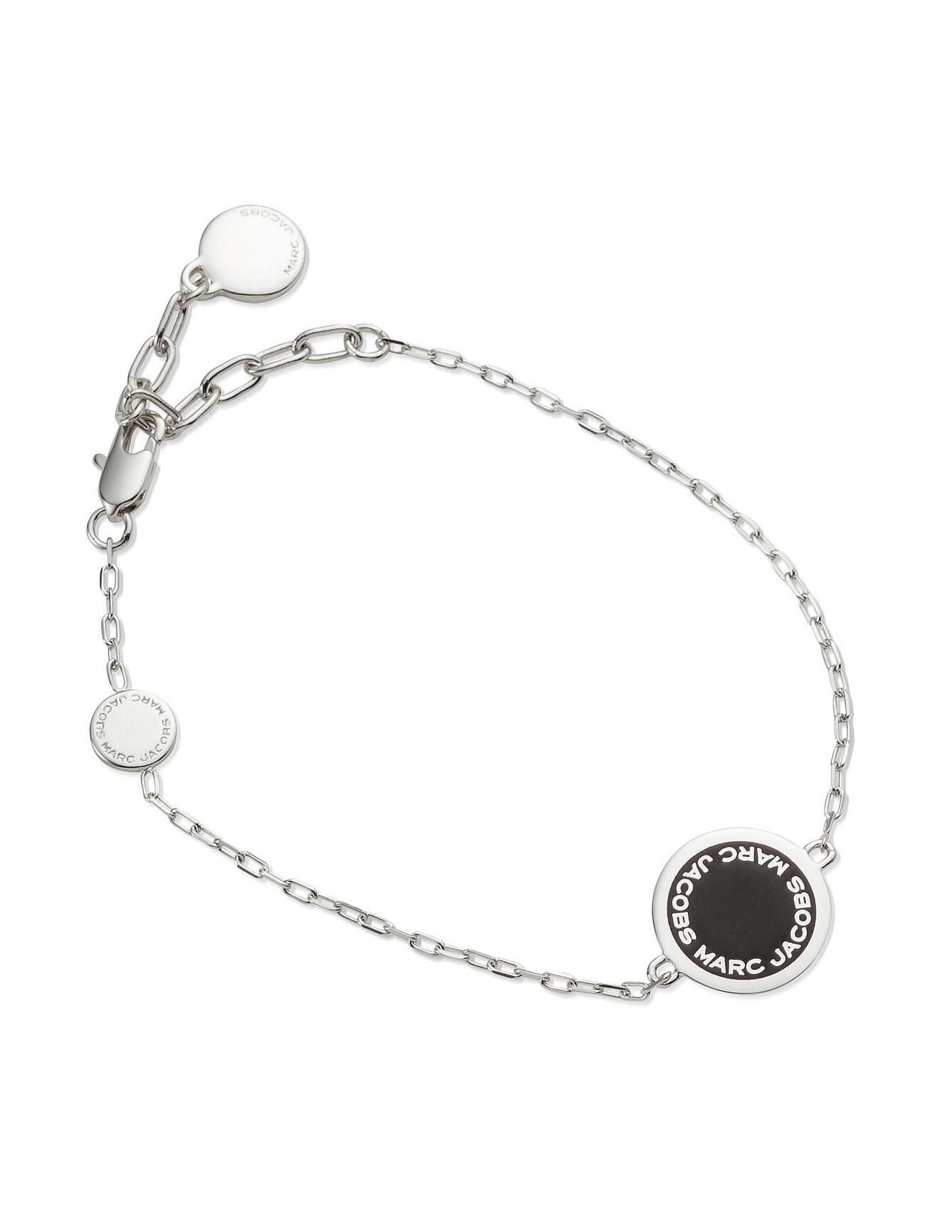 61d142336781d Bags & Accessories - Enamel Logo Disc Bracelet