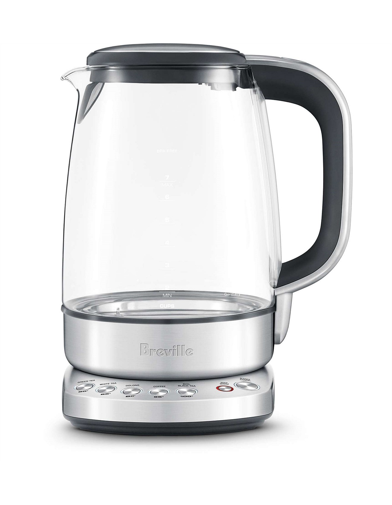 Bke830 The Smart Crystal Clear Kettle