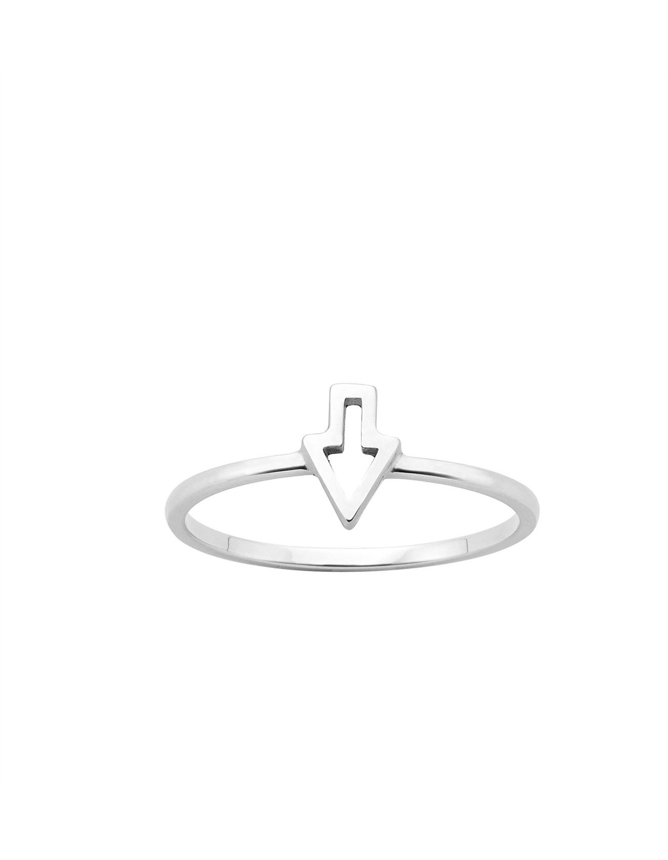01e096b57fe4 Superfine Runaway Arrow Ring Med