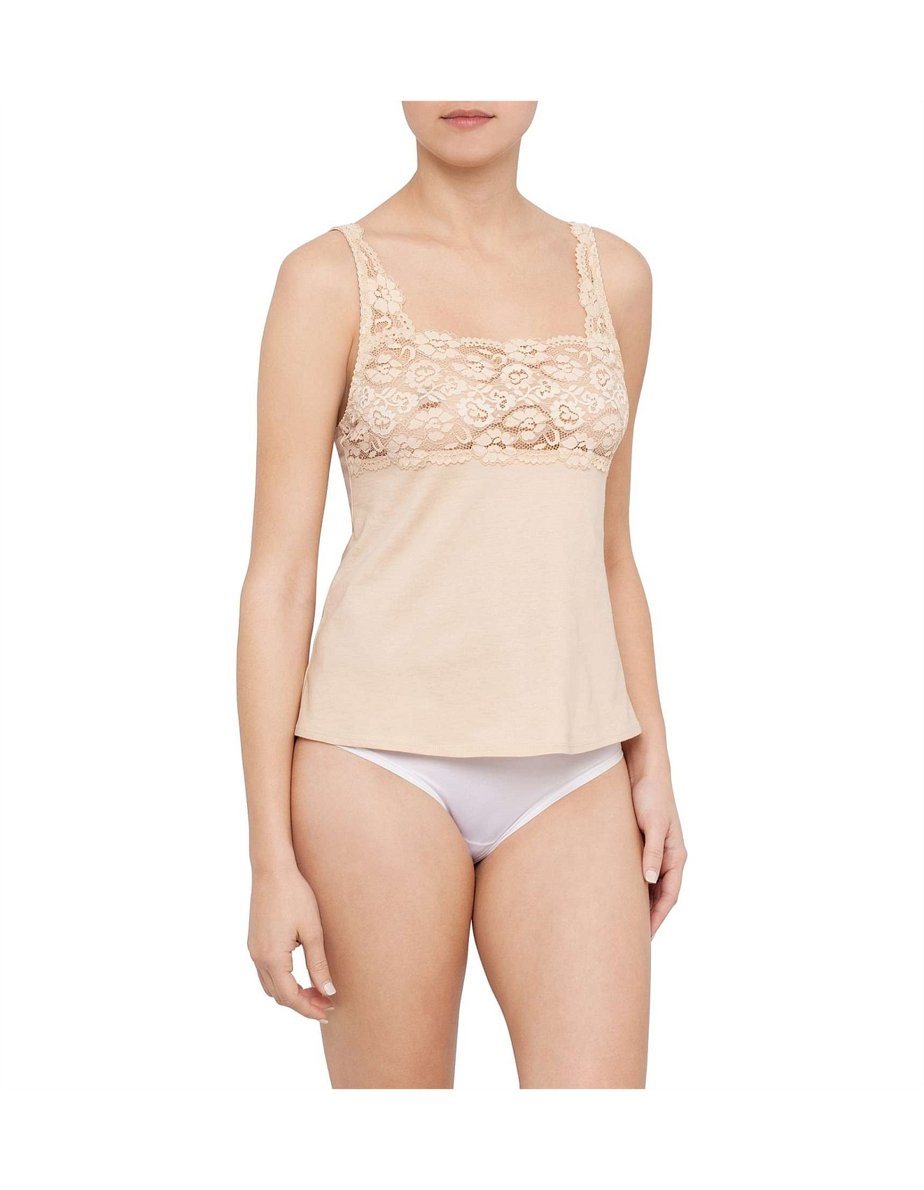 9f9069f7b52a61 Cotton   Lace Camisole