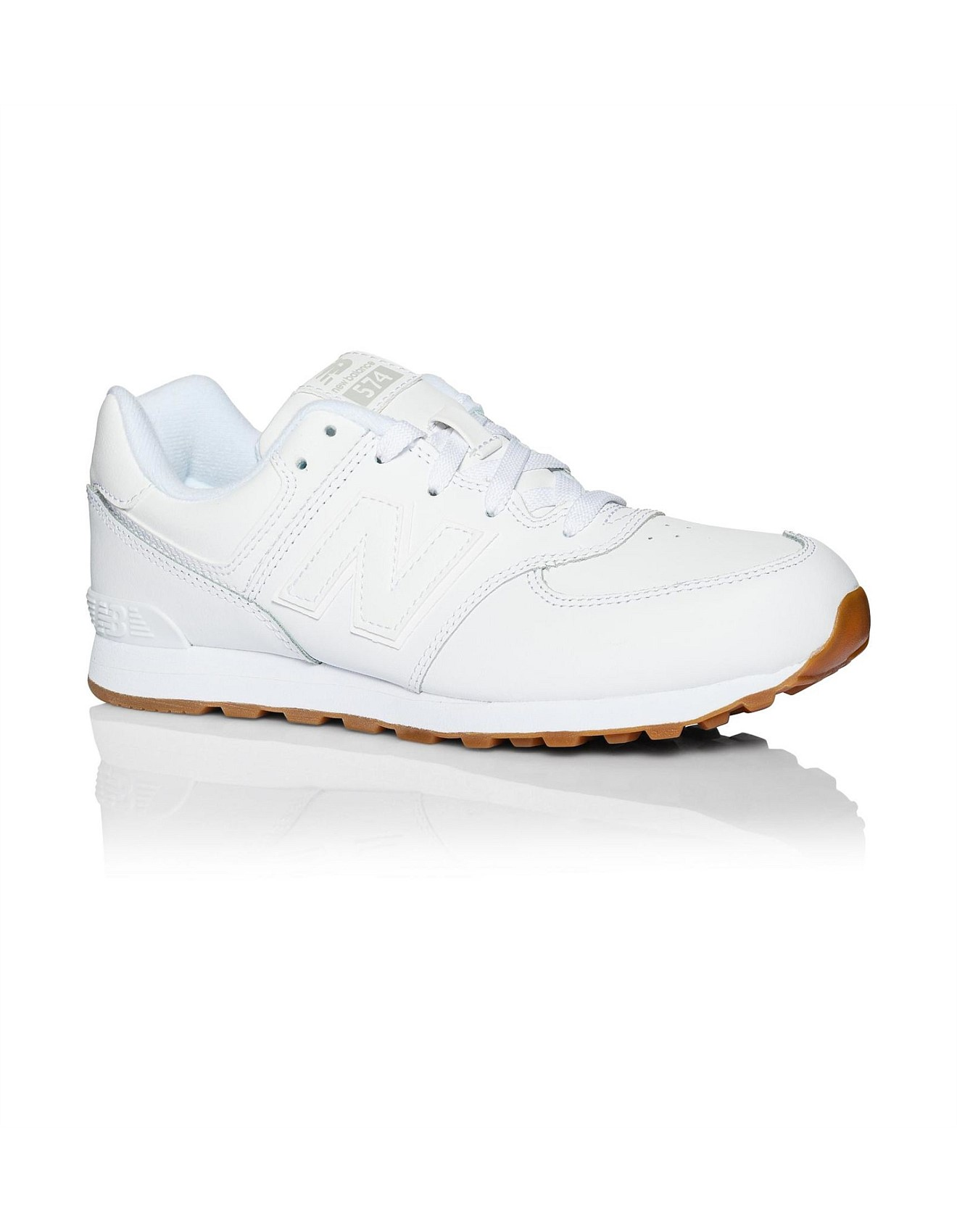 edc0b041d55ff Kl574g8p/G Athletic Laceup Leather Trainer