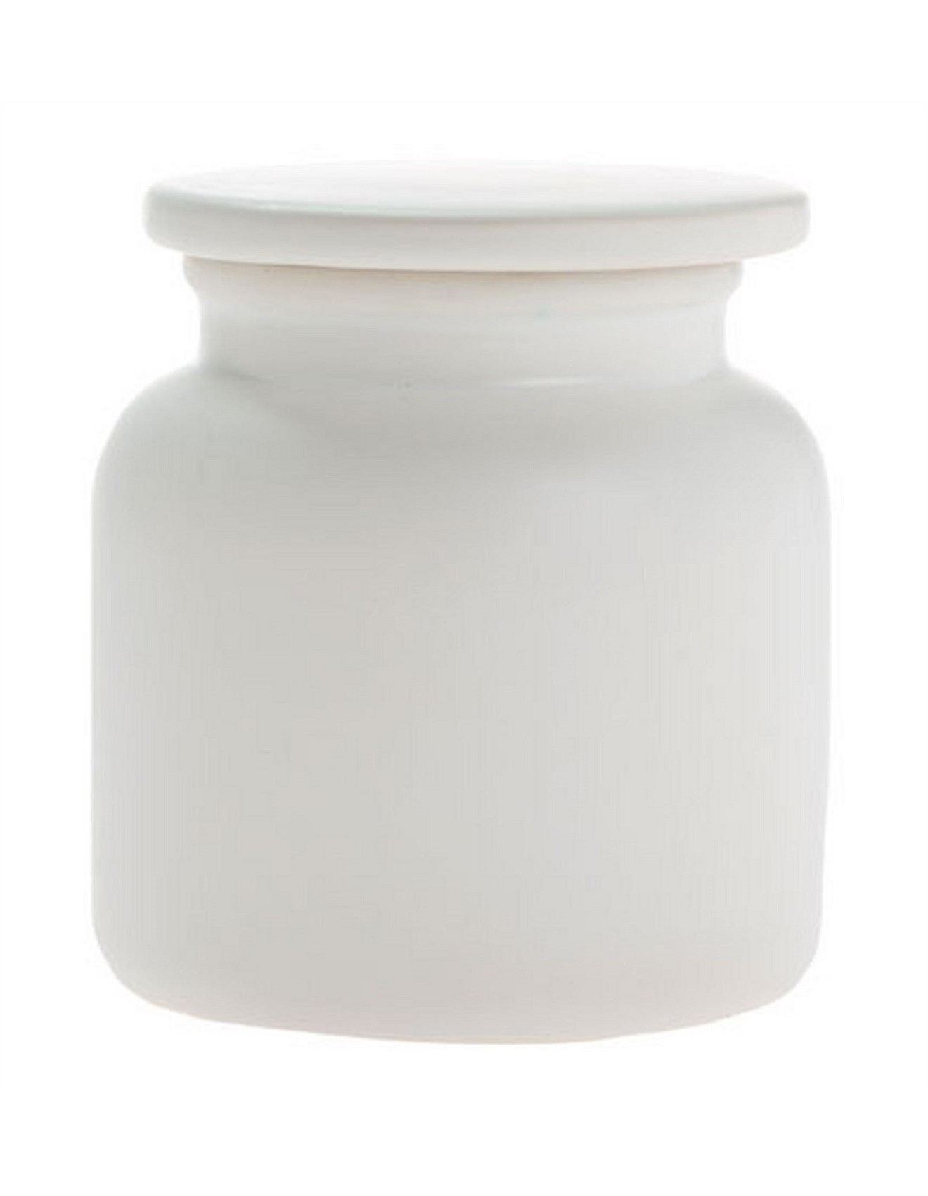 Marino Cotton Ball Canister