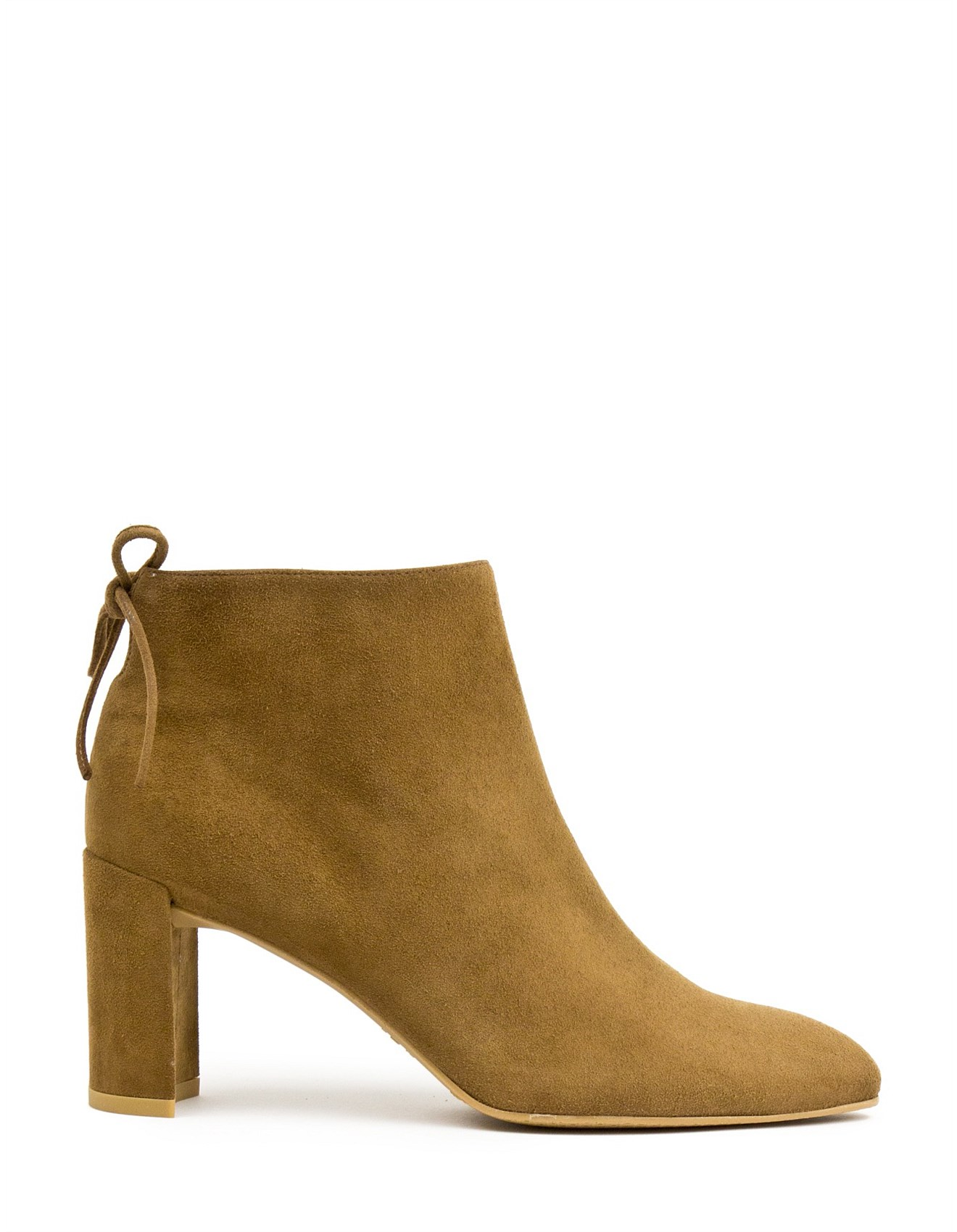 f218e9097842 Lofty Back Tie Ankle Boot