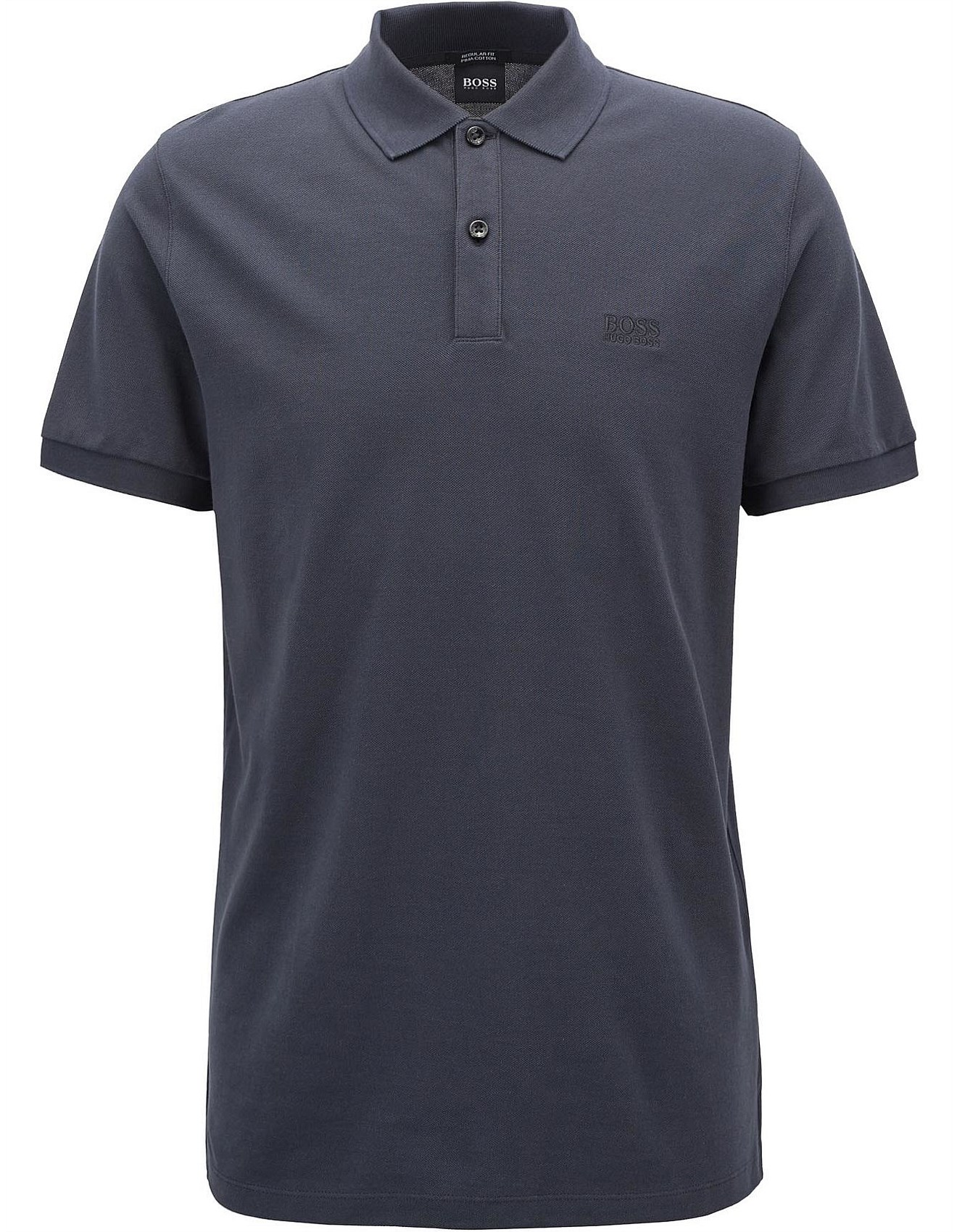 d048ea770 Regular-Fit Polo Shirt In Fine Pique