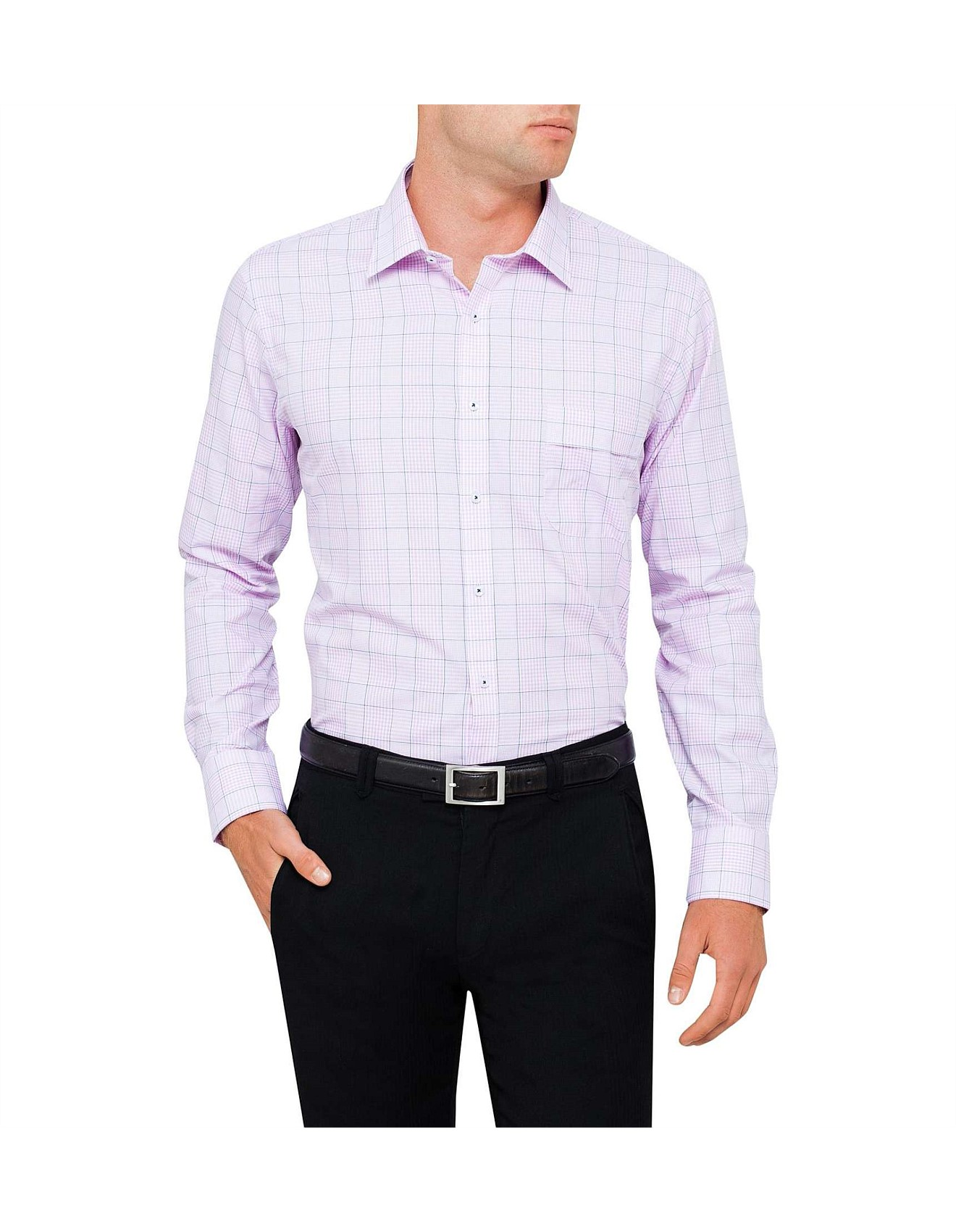 Multi Scale Check Shirt