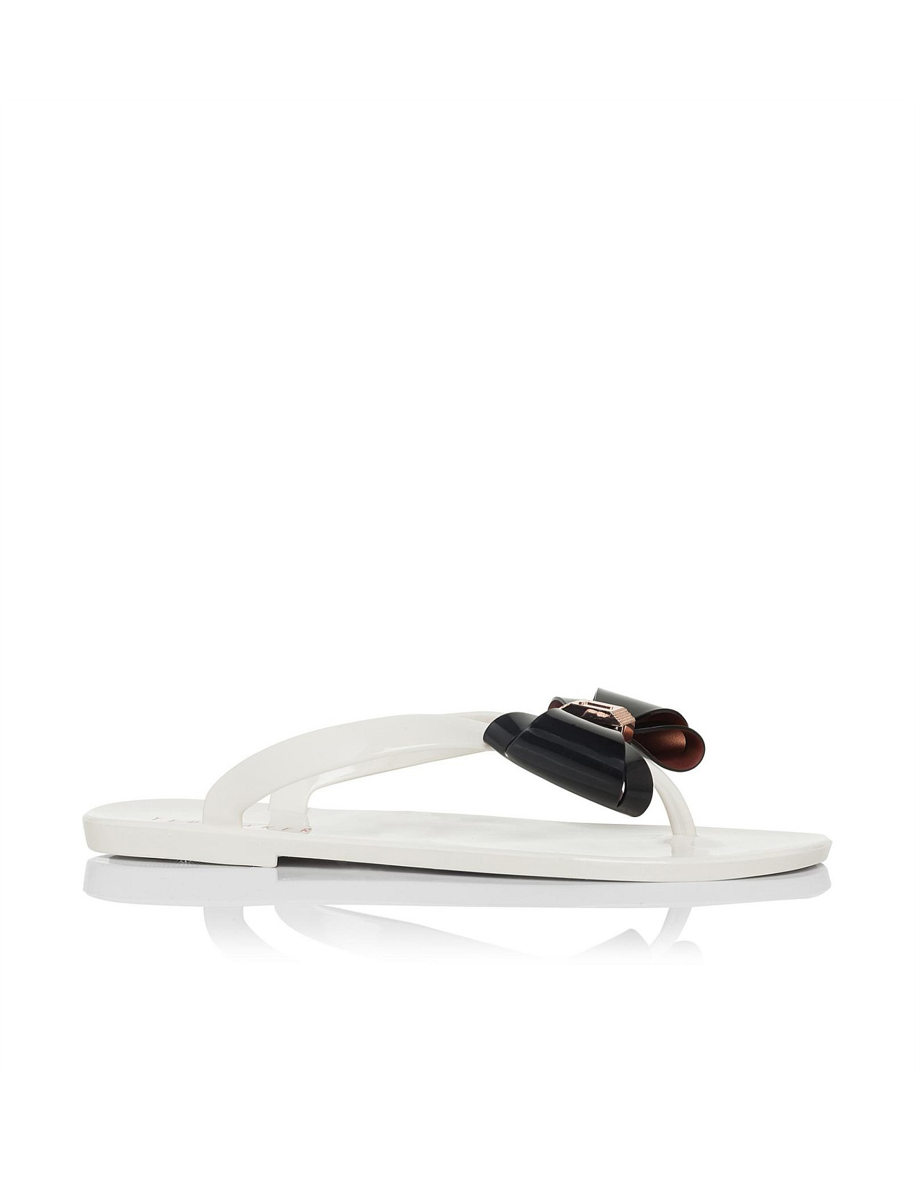 707e4b513 Bow Detail Jelly Flip Flop