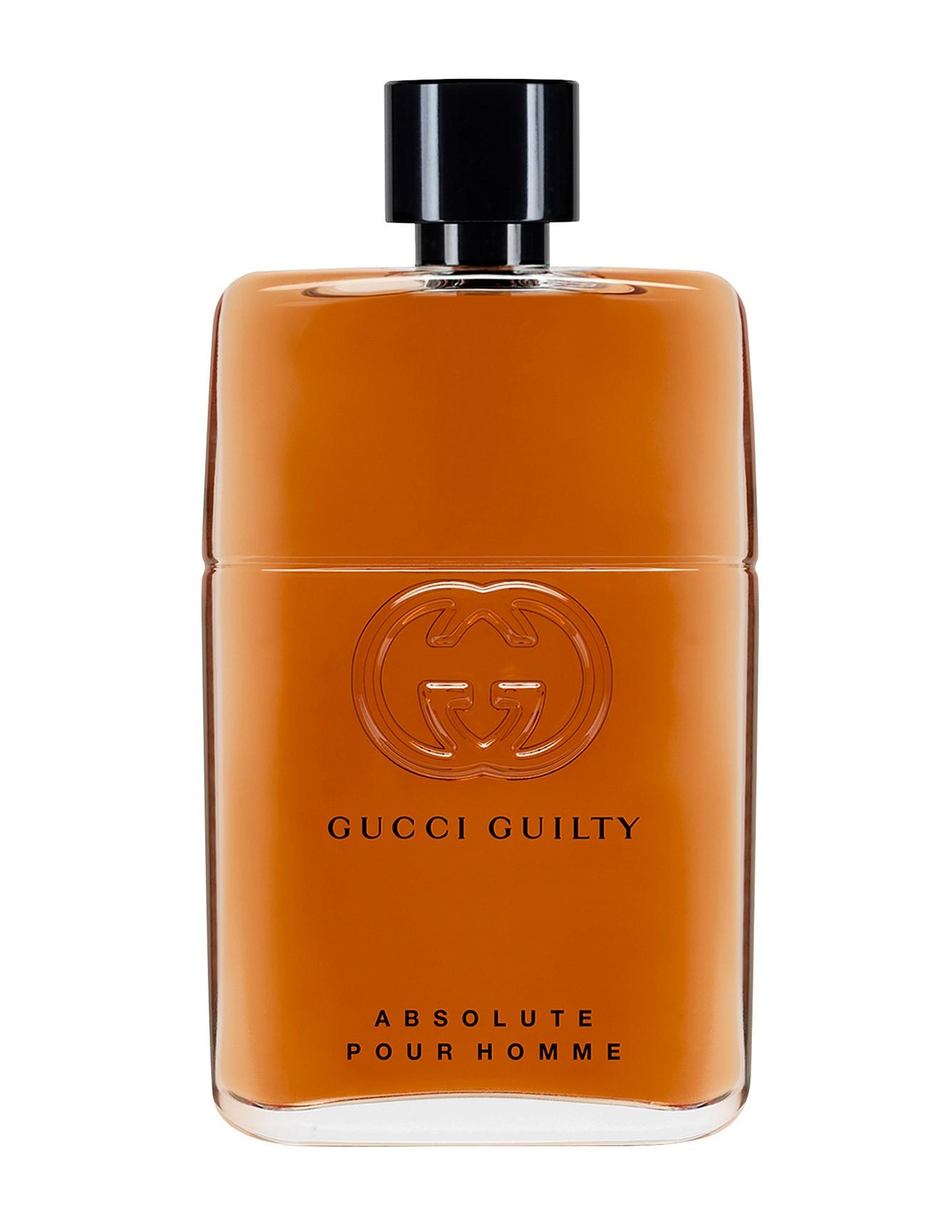 9c9711c979b Makeup, Perfume, Beauty, Skincare   Shop Online   David Jones - Gucci  Guilty Pour Homme Absolute 90ml Edp