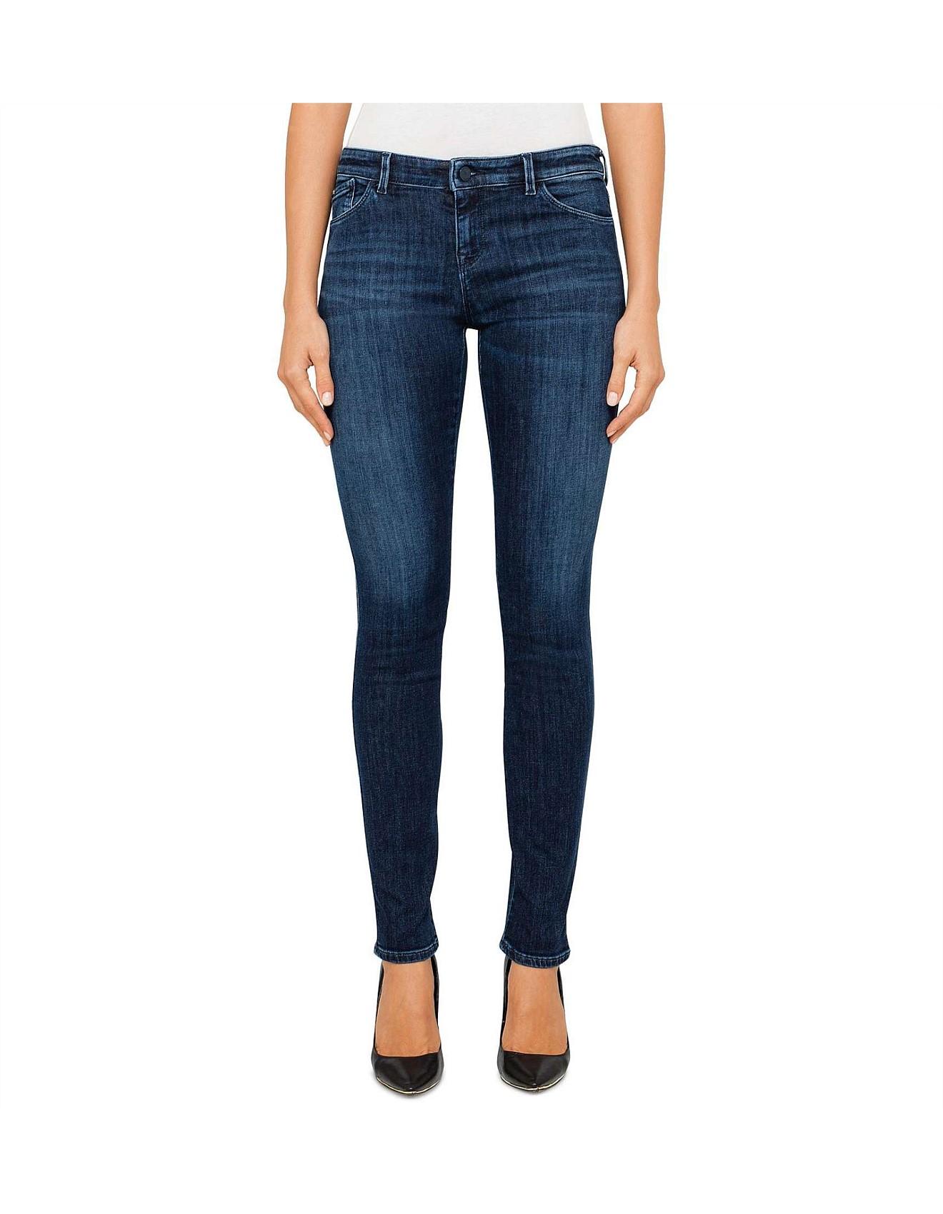 0c1dc9c6e3e5 Armani Jeans | Buy Armani Jeans Clothing Online | David Jones - J23 Medium  Rise Push Up Super Skinny Jean
