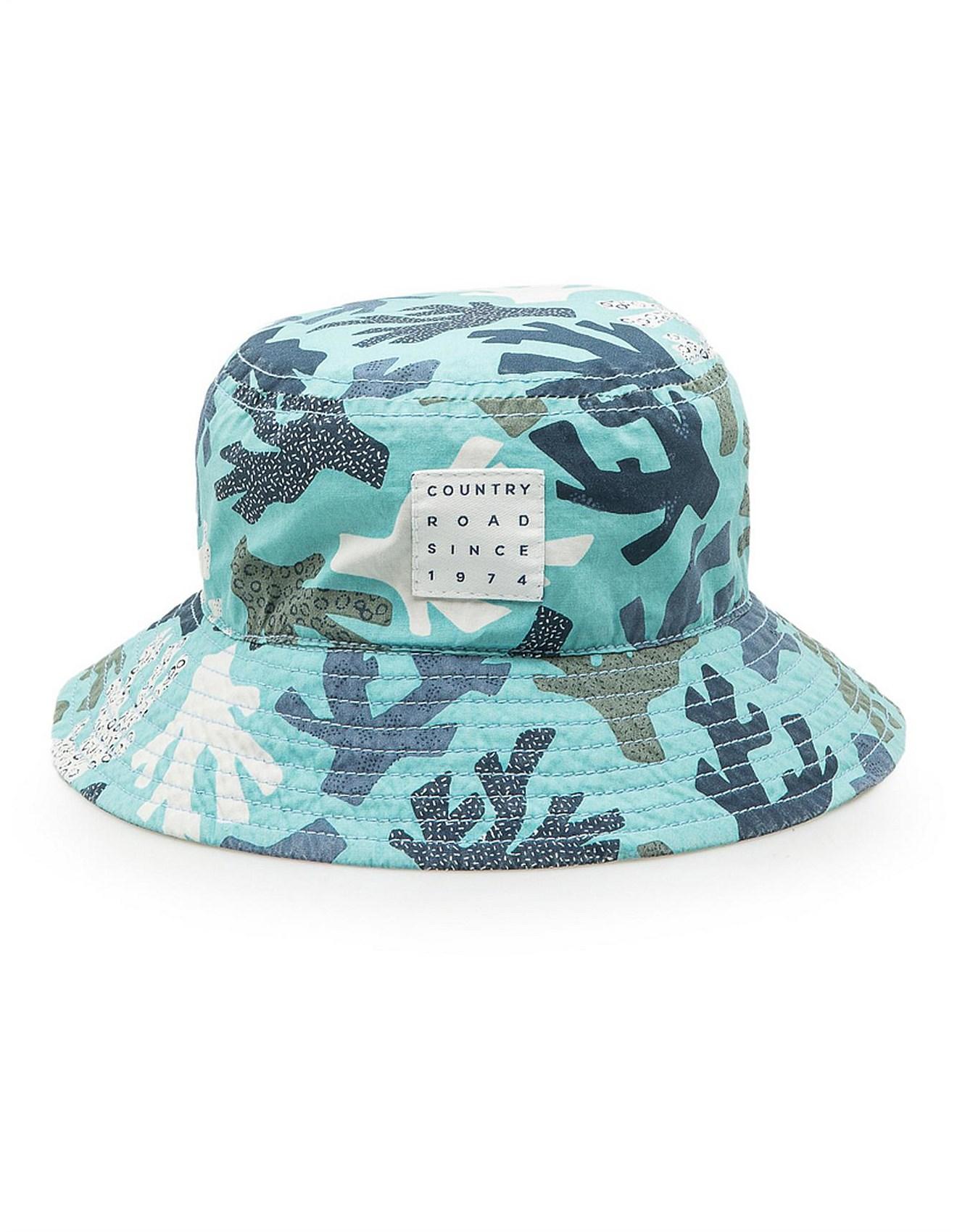 efd1cfc1c Baby Boys Coral Bucket Hat