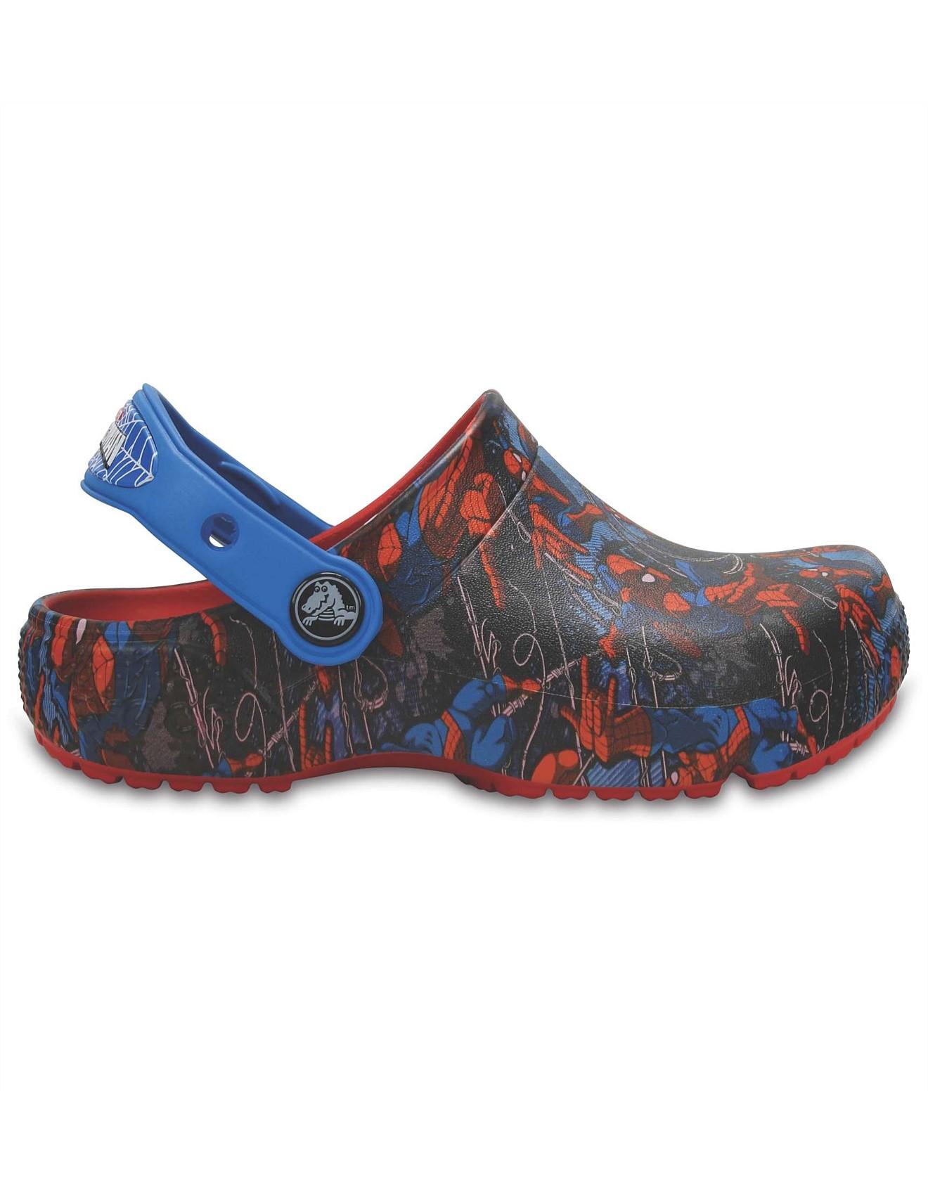 27eb2941669c Crocsfunlab Spiderman Flame. Zoom. Crocs