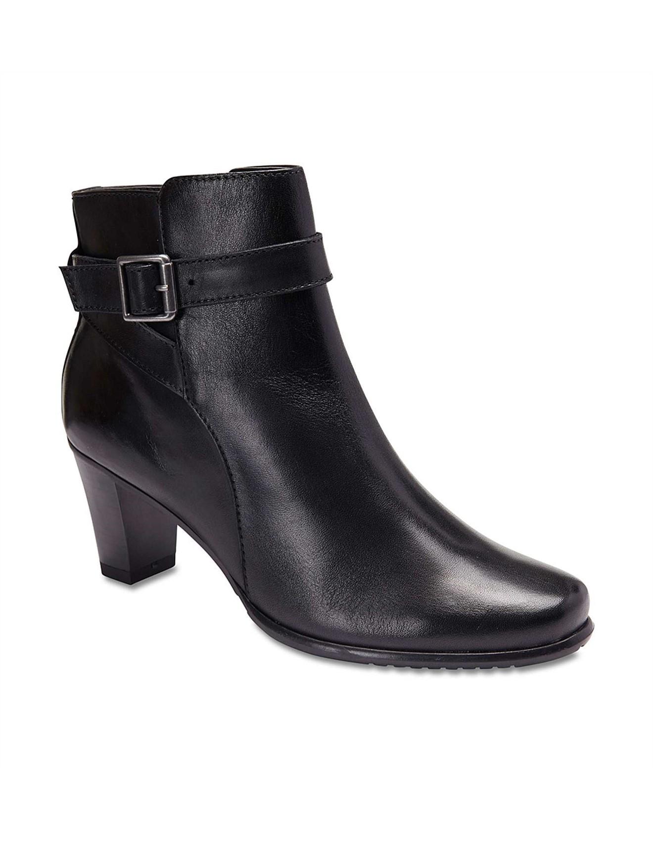 258e4e0ac62 Buckle Trim Ankle Boot
