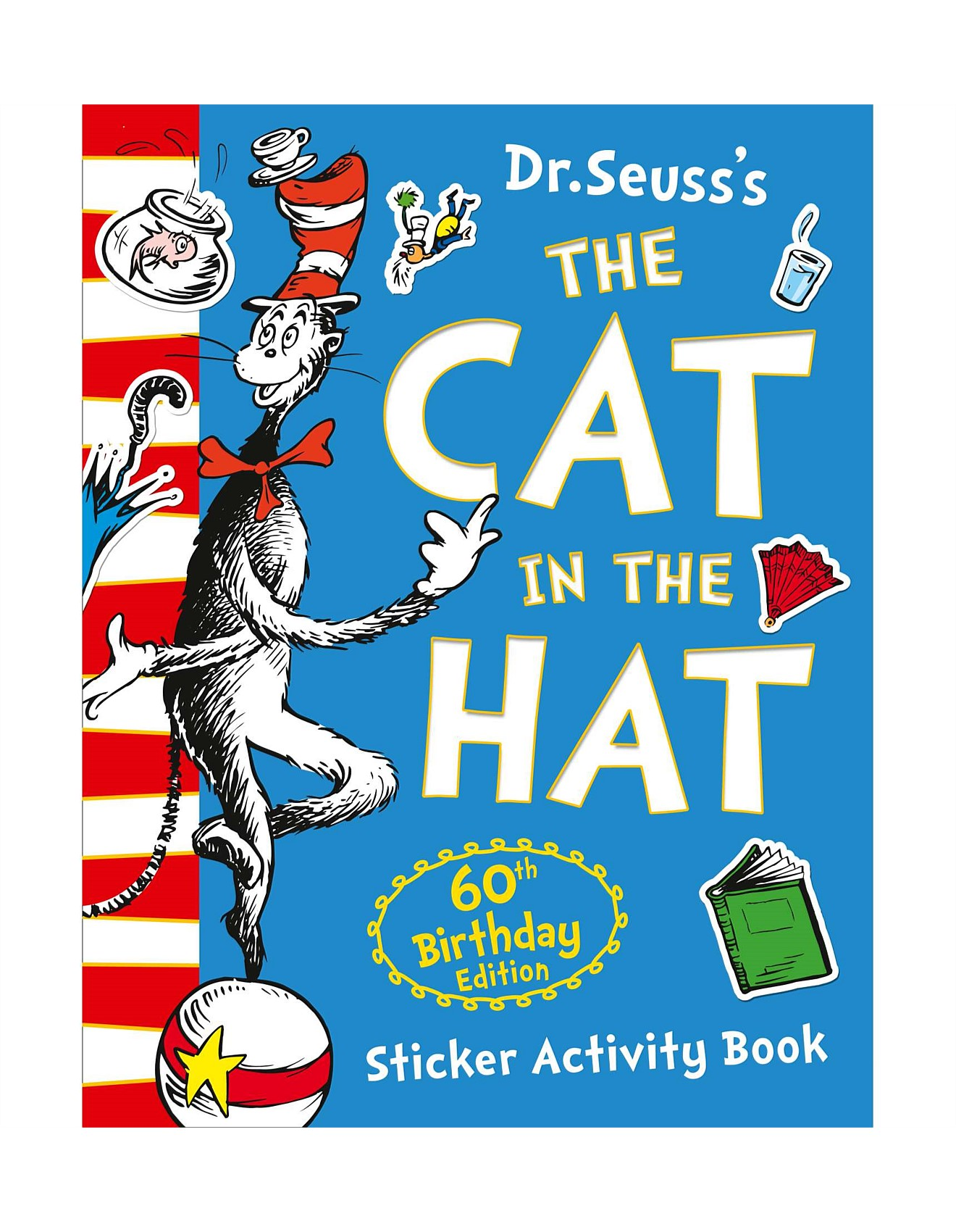 The Cat In Hat 60th Birthday Sticker Activity Book