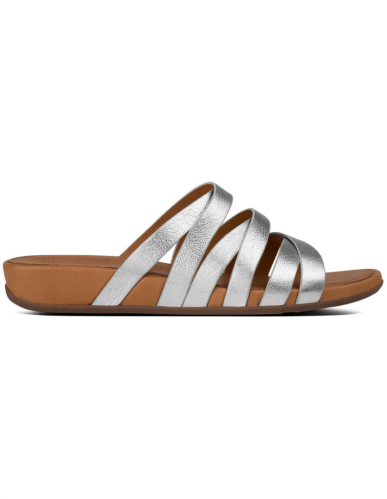 072a504ad Lumy Leather Slide Silver