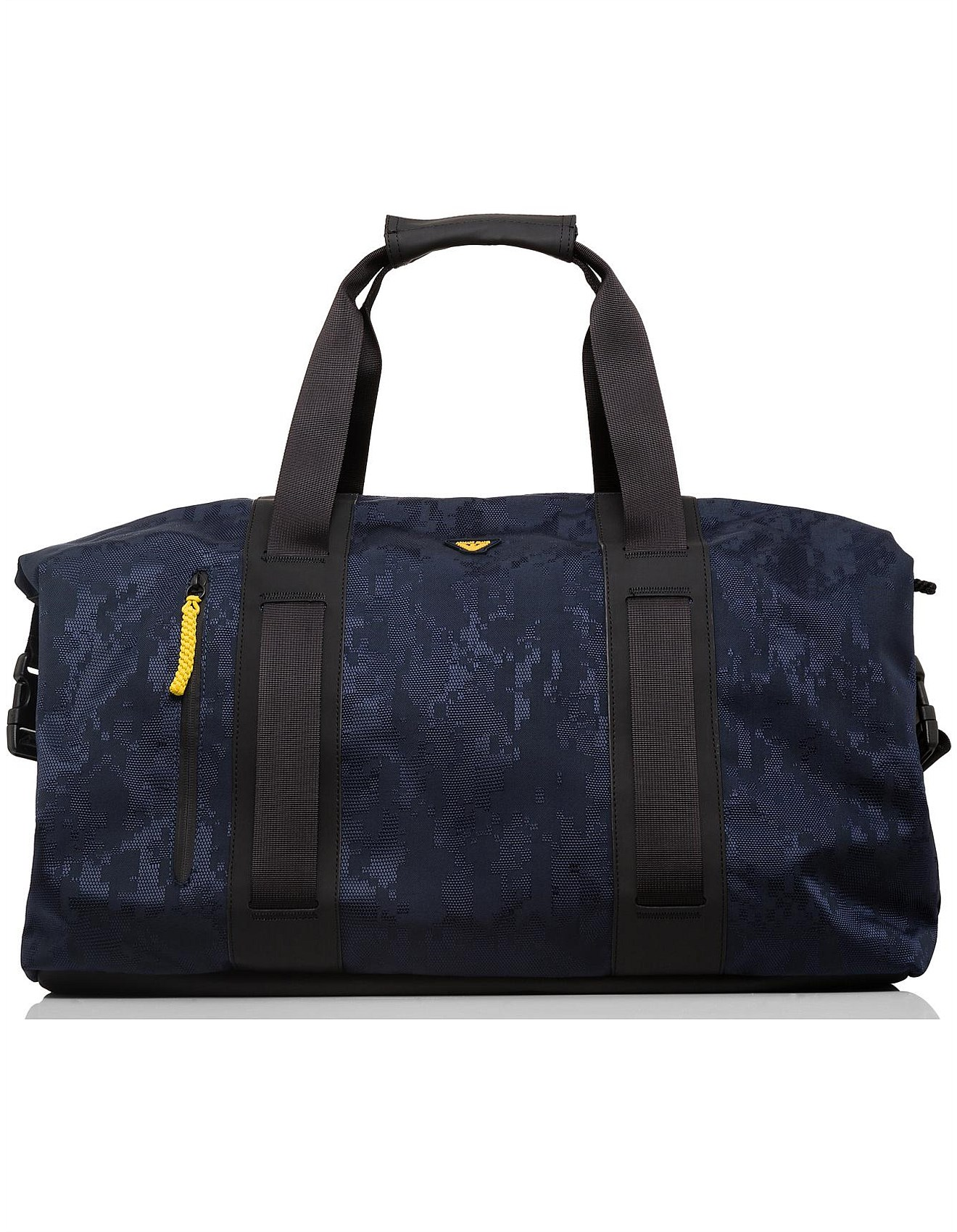 42c82a7428e Armani Jeans   Buy Armani Jeans Clothing Online   David Jones - Digital  camo printed nylon holdall