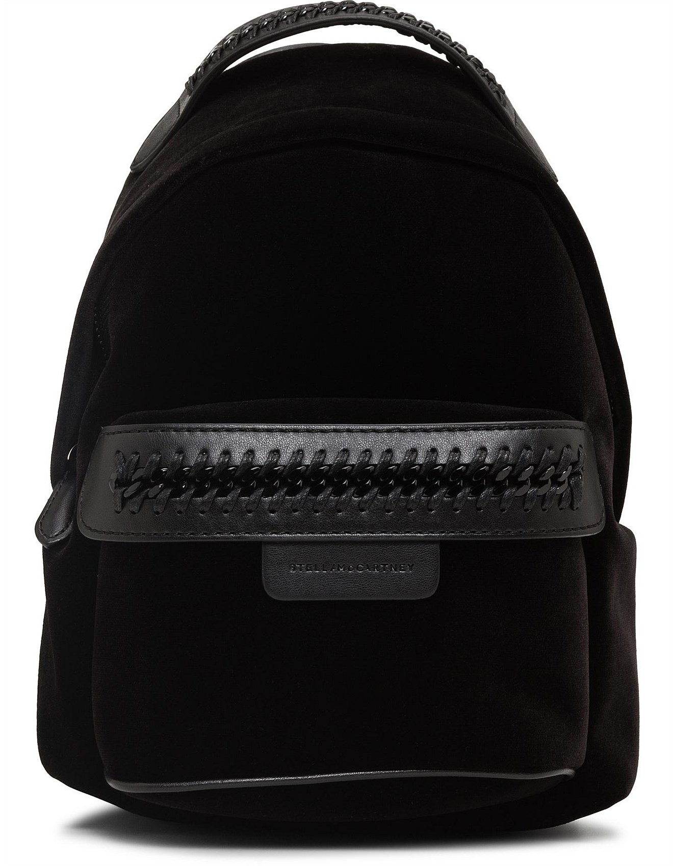 0c4b876b42ba VELVET FALABELLA MINI BACKPACK