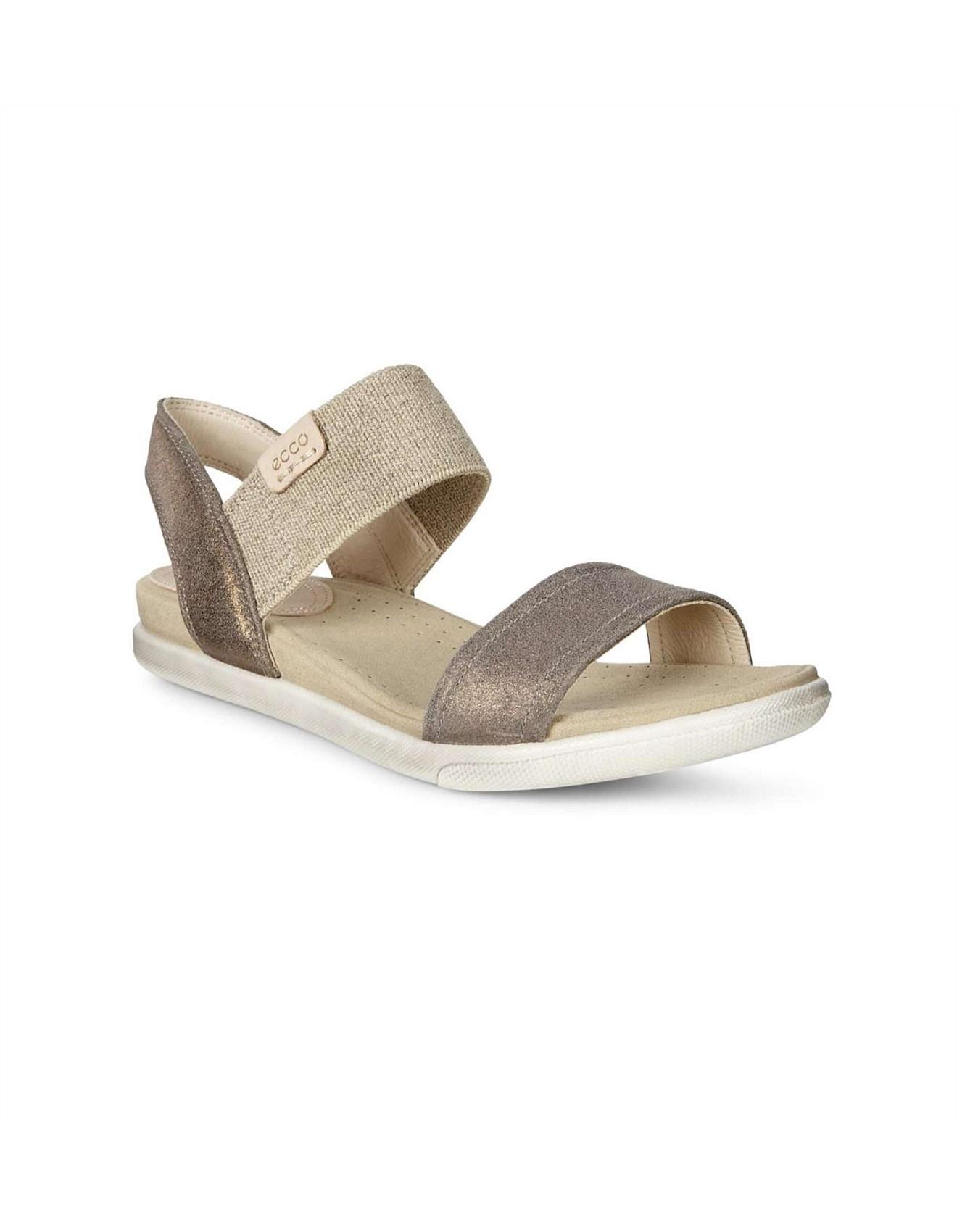 2a964a3cb312 Damara Sandal Warm Grey Metallic Suede
