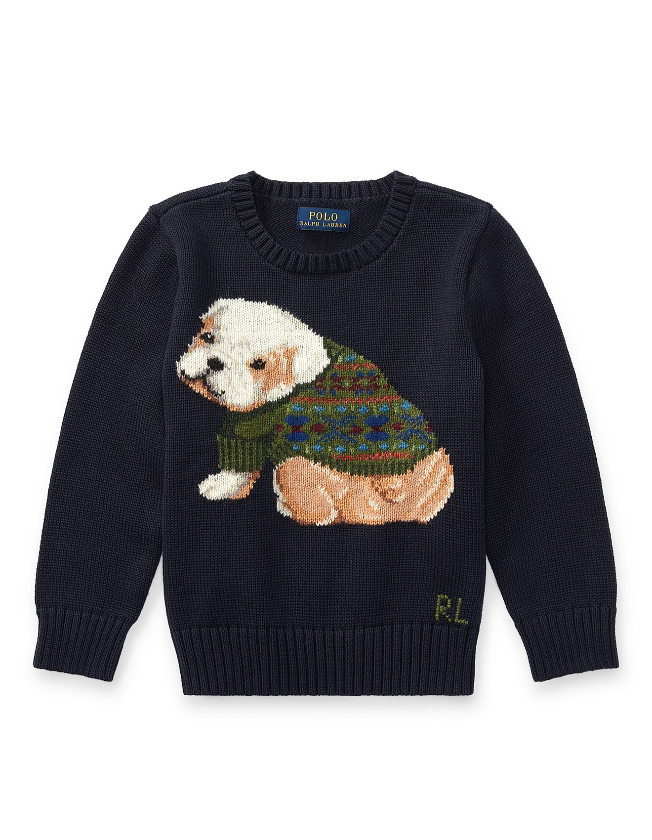 Dog Cotton Blend Sweater2 7 Years