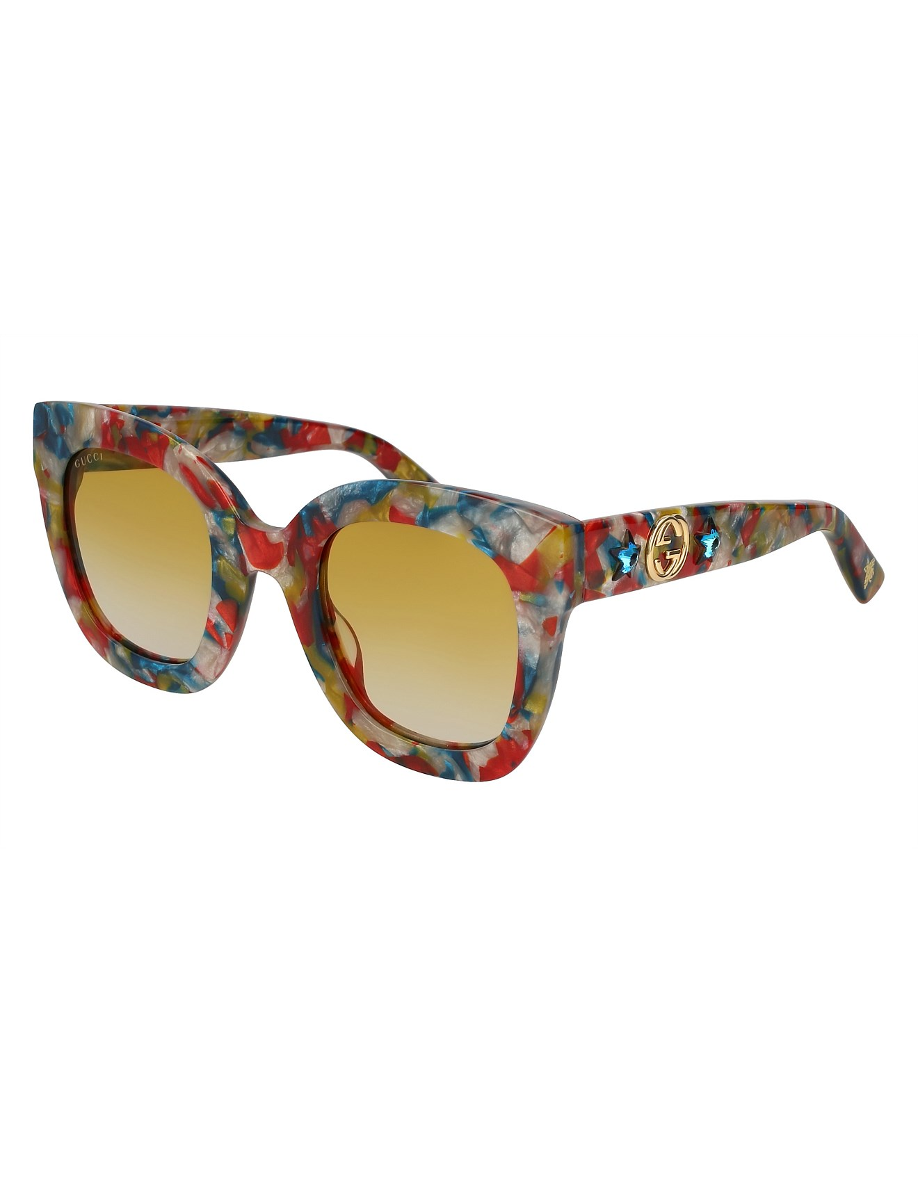 70ce6fbc8fb GG0208S-006 49 Sunglass WOMAN ACETATE
