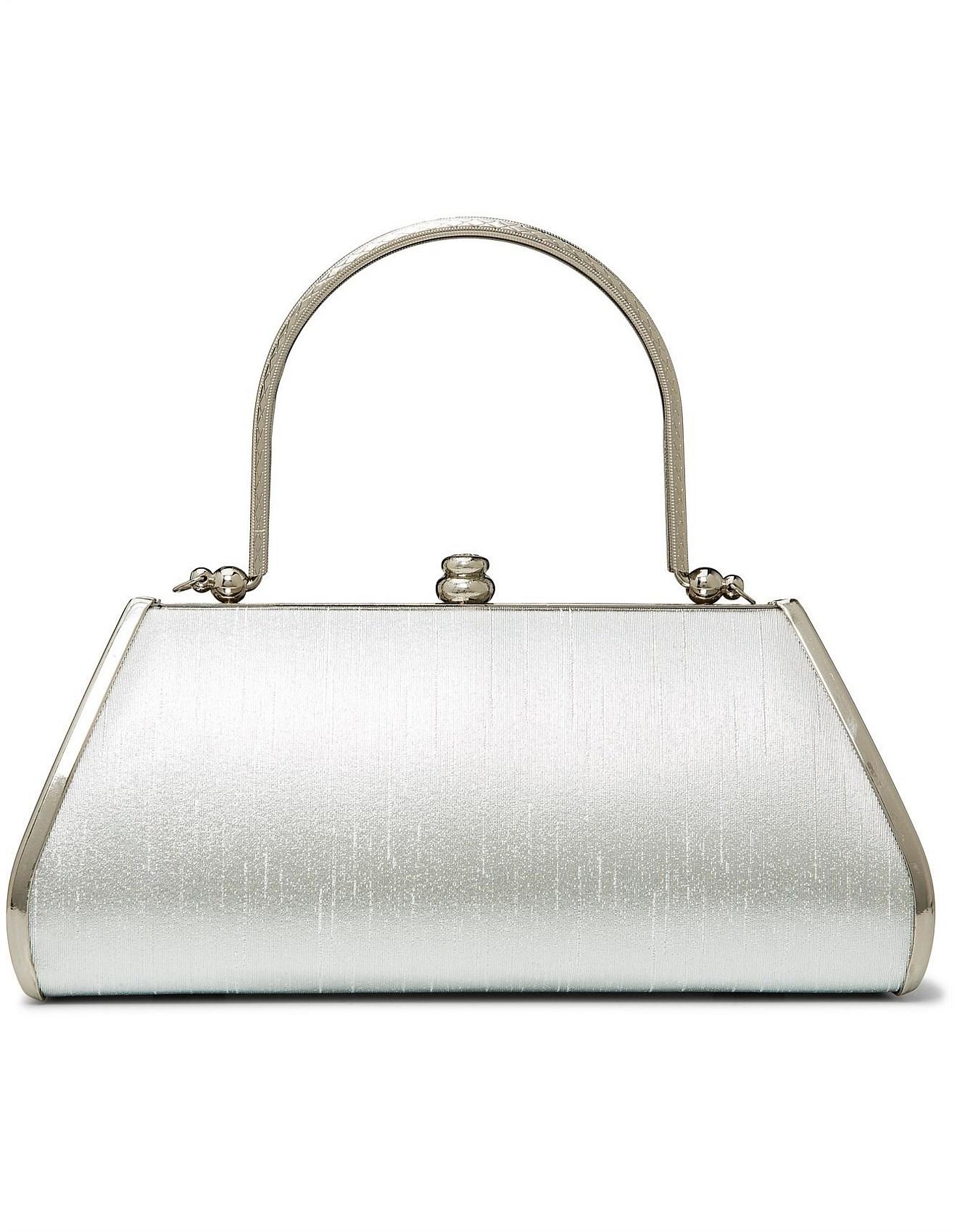 Shoulder Bags - METAL FRAME \