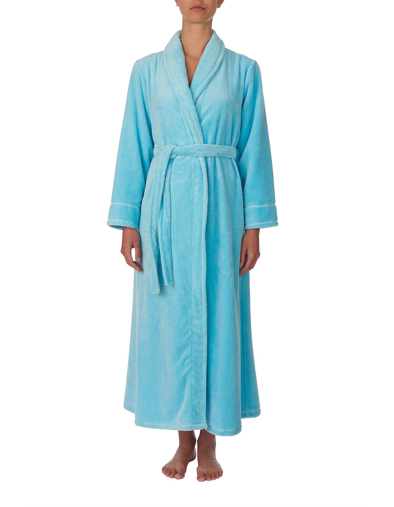 Dressing Gowns & Robes - Long Wrap Gown