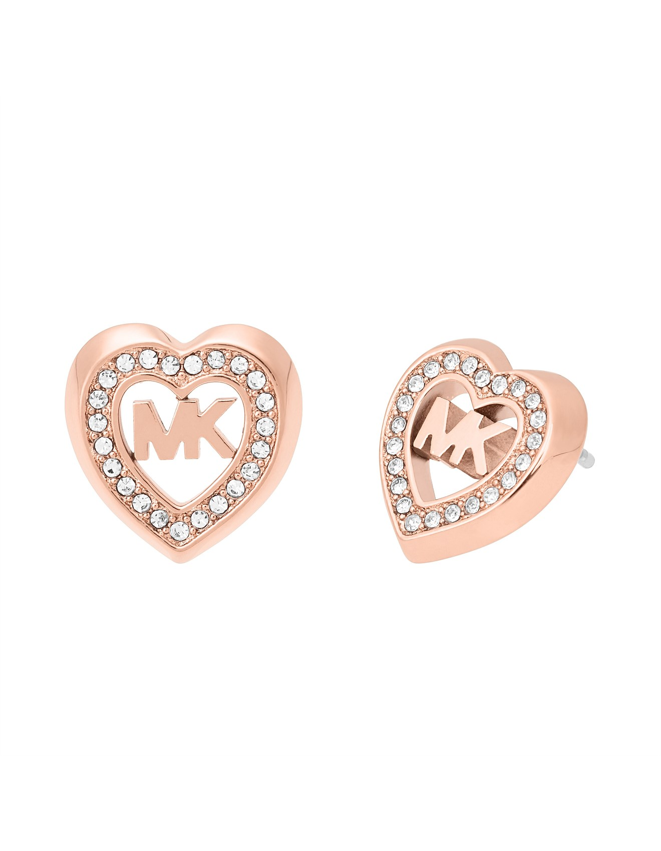 d88123b9f88e Love is in The Air Rose Gold Tone Stud Earring