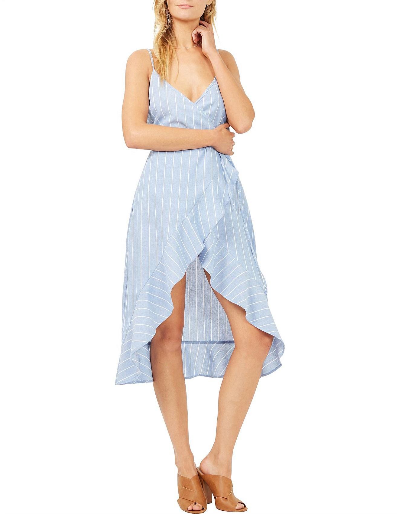 Alexa Wrap Dress