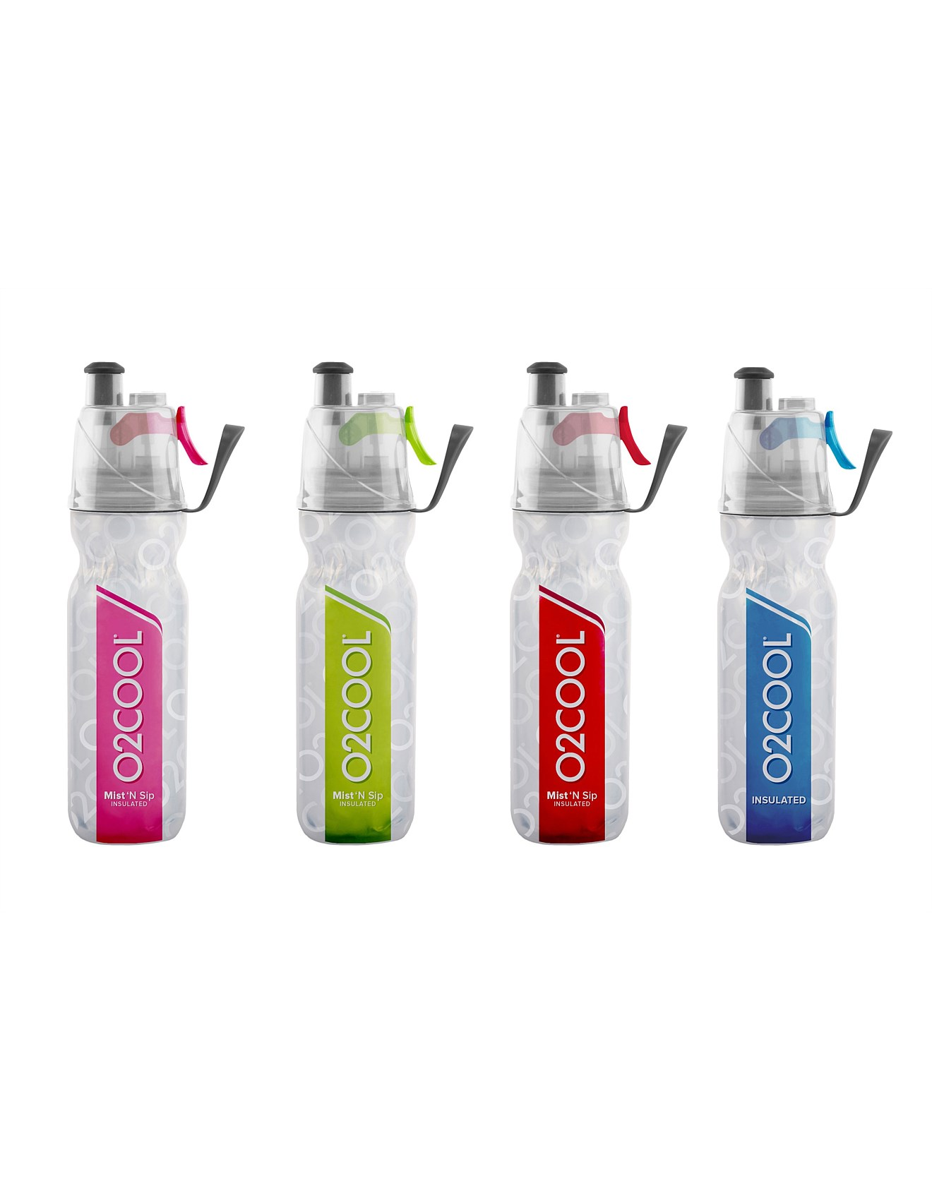 e9e241bf57 O2 Cool Mist N Sip Insulated Water Bottle Assorted
