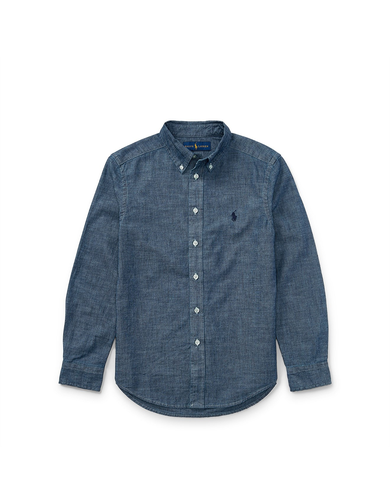 Kids clothing kids baby clothes toys online david for Chambray shirt for kids