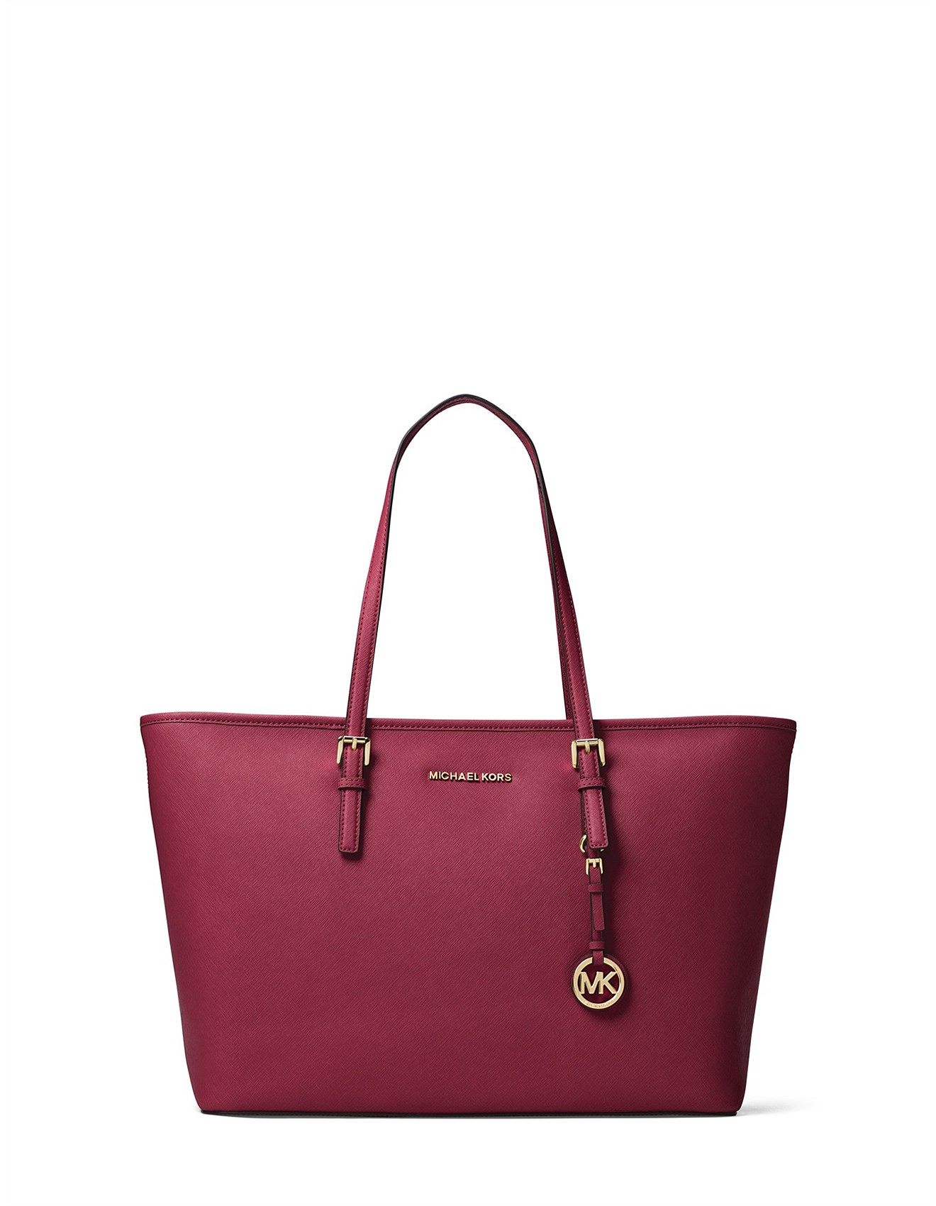 225dd0afb84f Jet Set Travel Medium Saffiano Top-Zip Tote