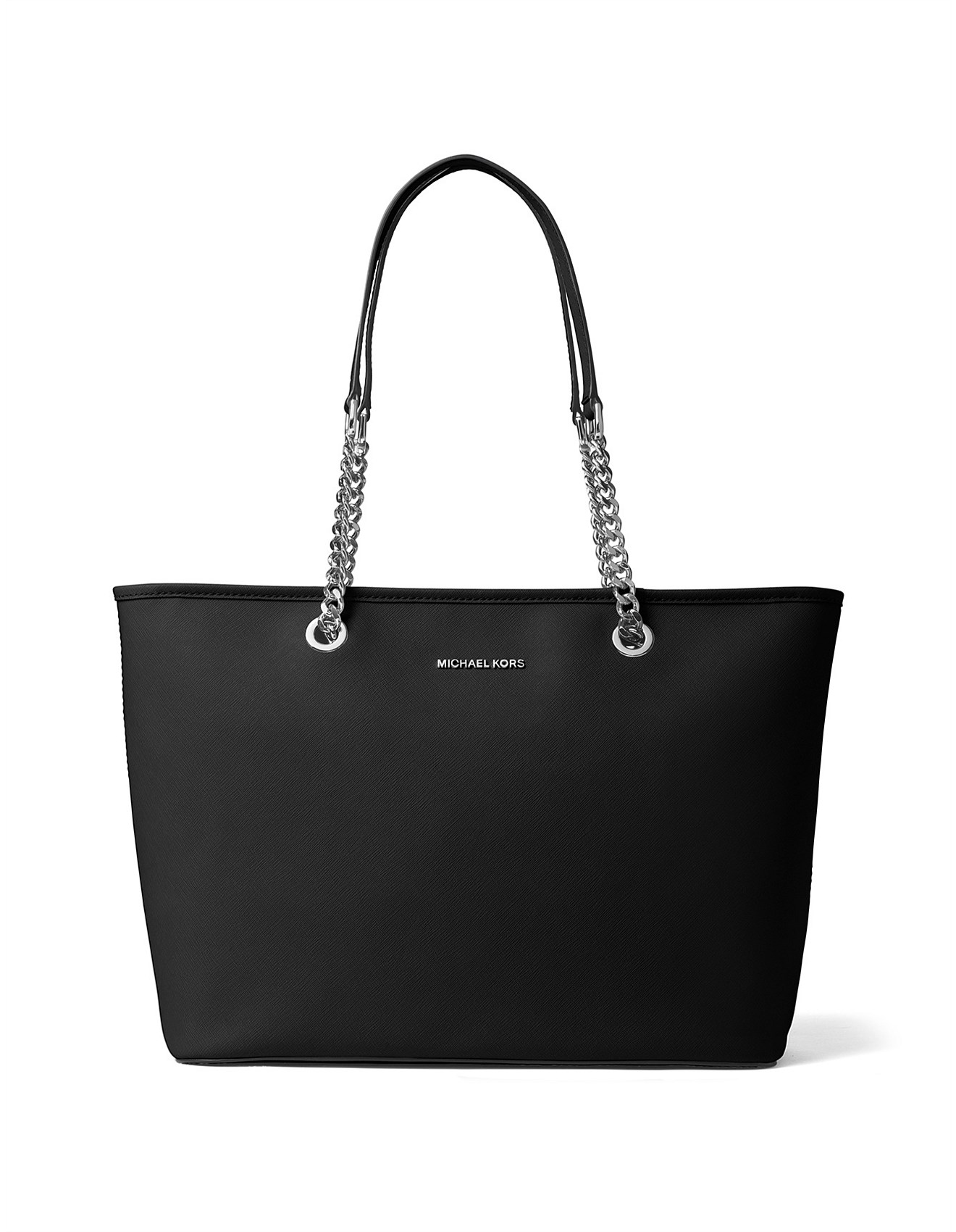 b5df395508 Jet Set Travel Medium Saffiano Top-Zip Tote