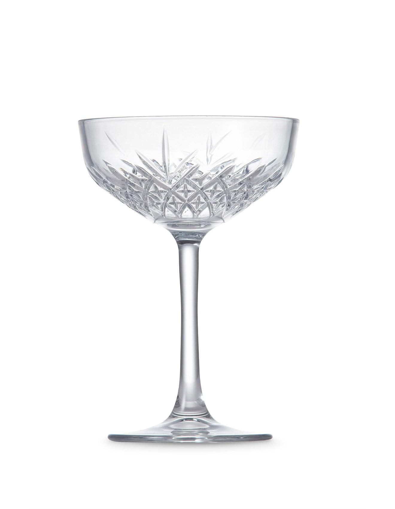 S P Winston Coupe Glass 270ml S 4