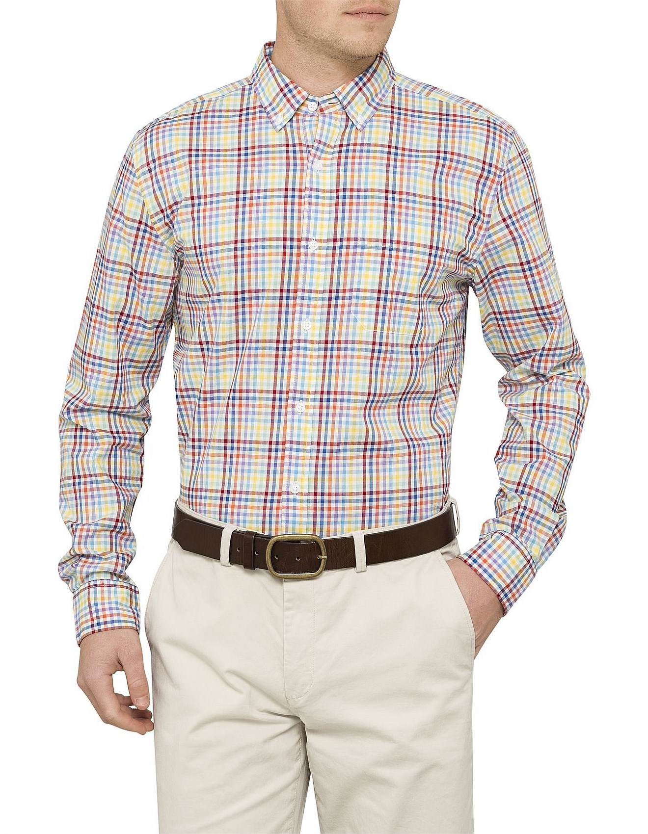 1a69ded8ef Multicoloured Check Shirt