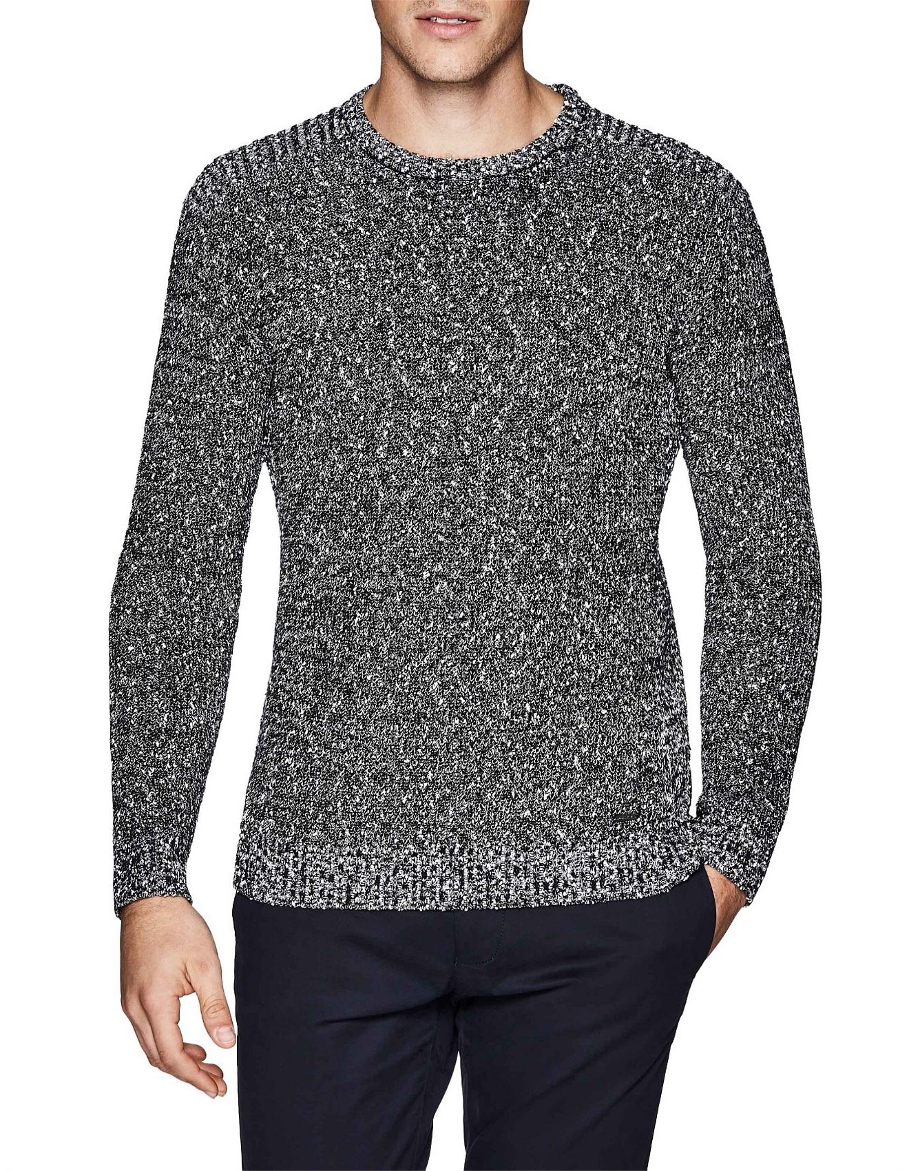 8bf73e313 Bretley Cotton Blend Crew Knit Jumper