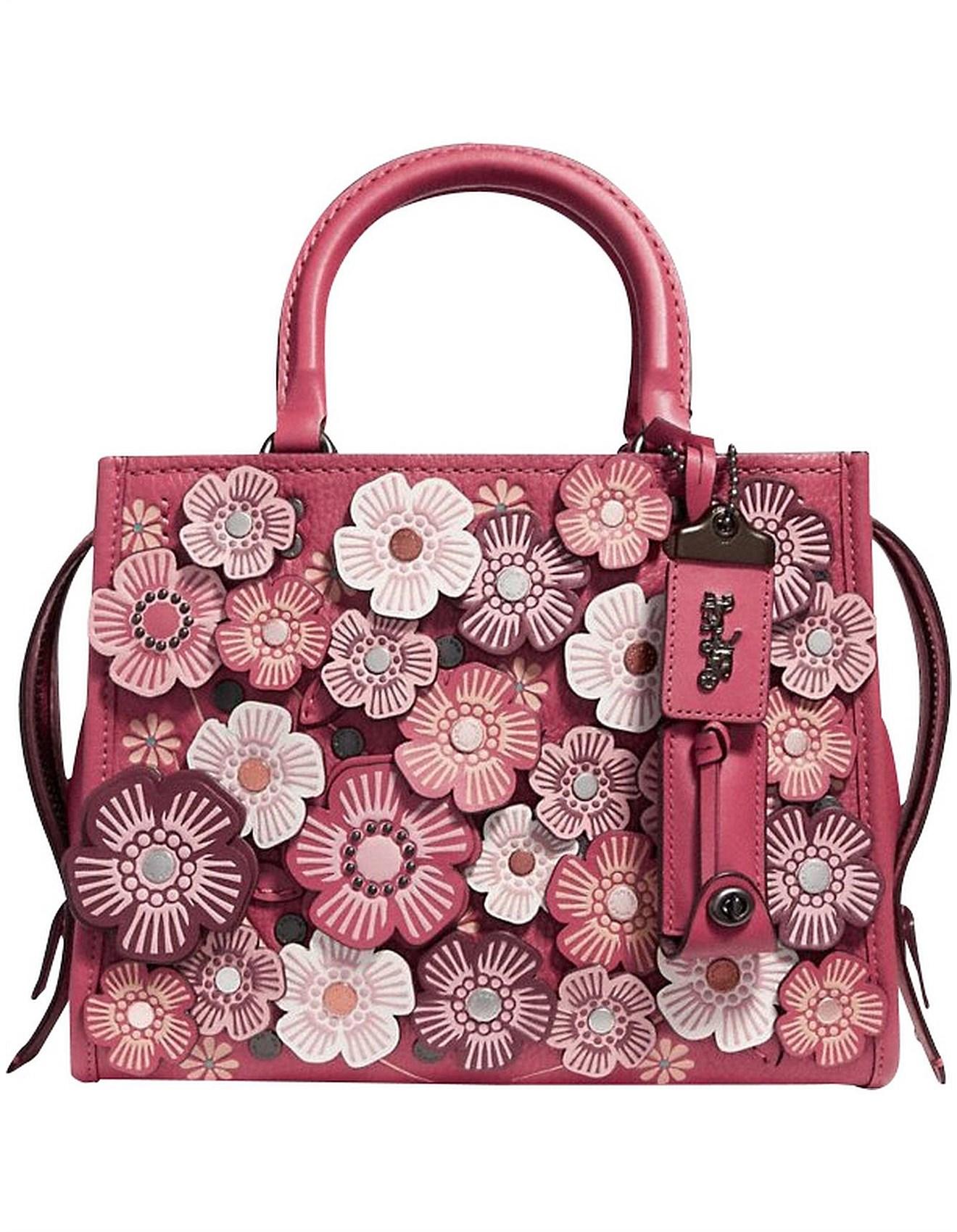 Bags Tea Rose Applique Rogue Bag 25