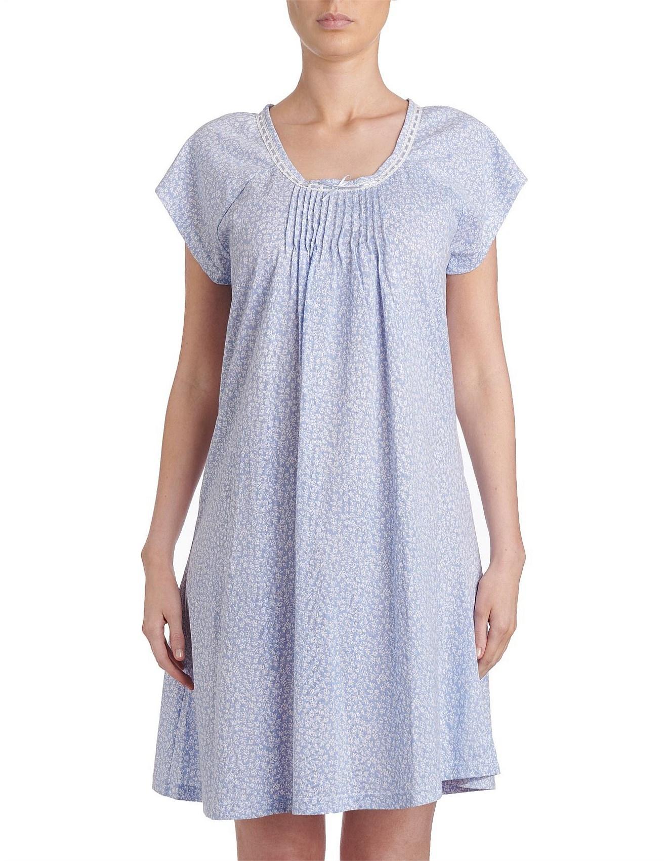 41b4543c5f Nightdresses & Nightshirts - Estelle Cap Sleeve Nightie