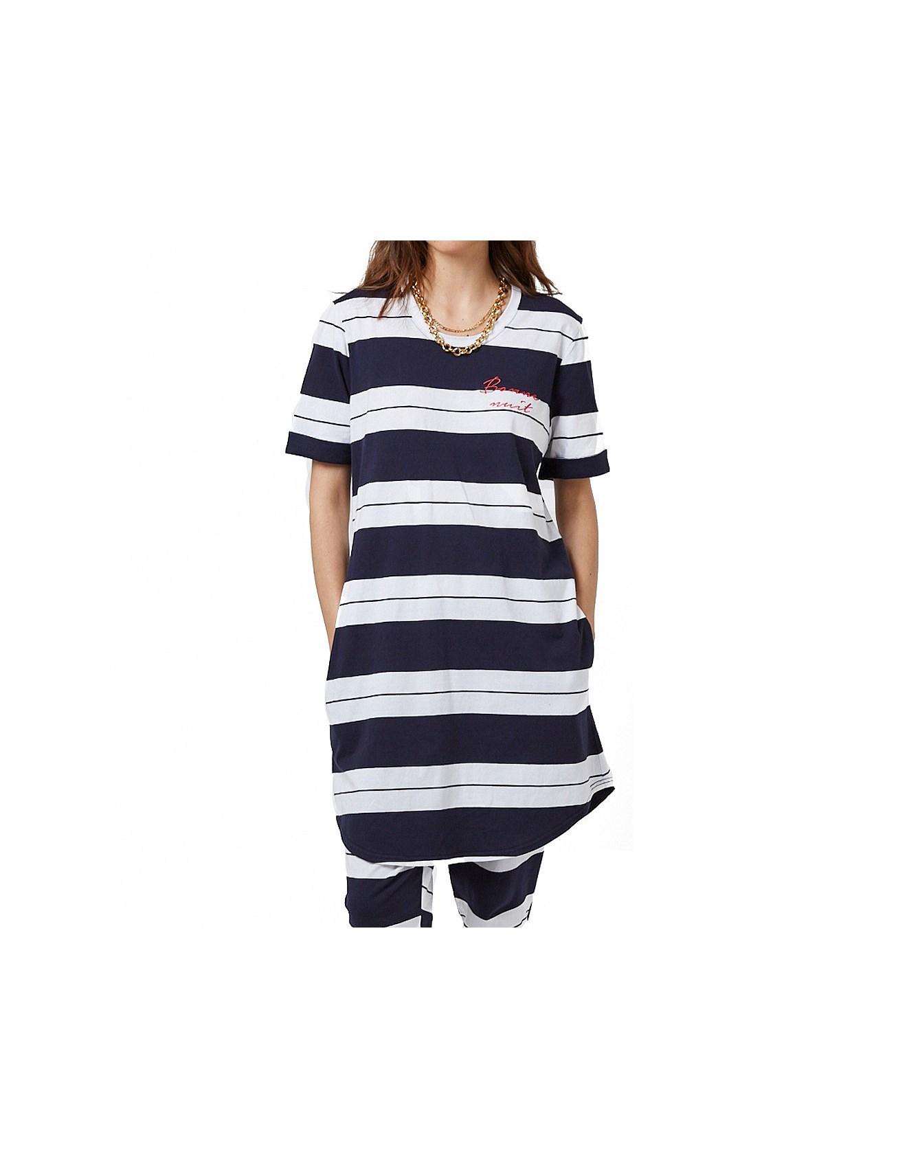 c501cfd02f Navy Stripe Jersey Nightie